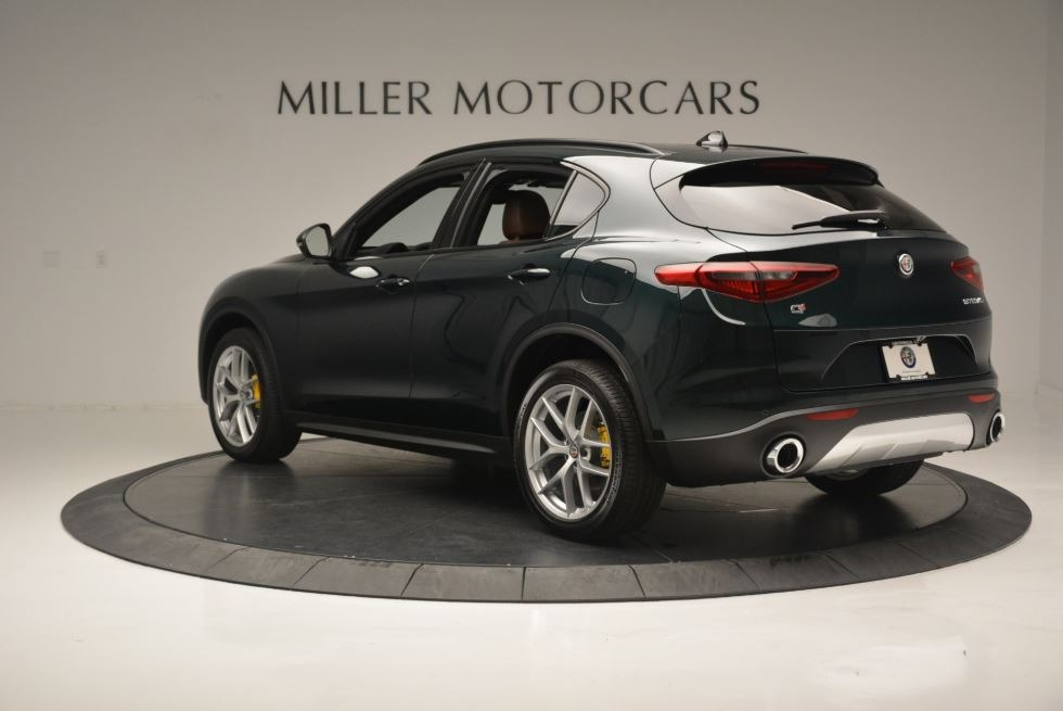New 2018 Alfa Romeo Stelvio Ti Sport Q4 For Sale In Greenwich, CT. Alfa Romeo of Greenwich, LW184 2322_p6