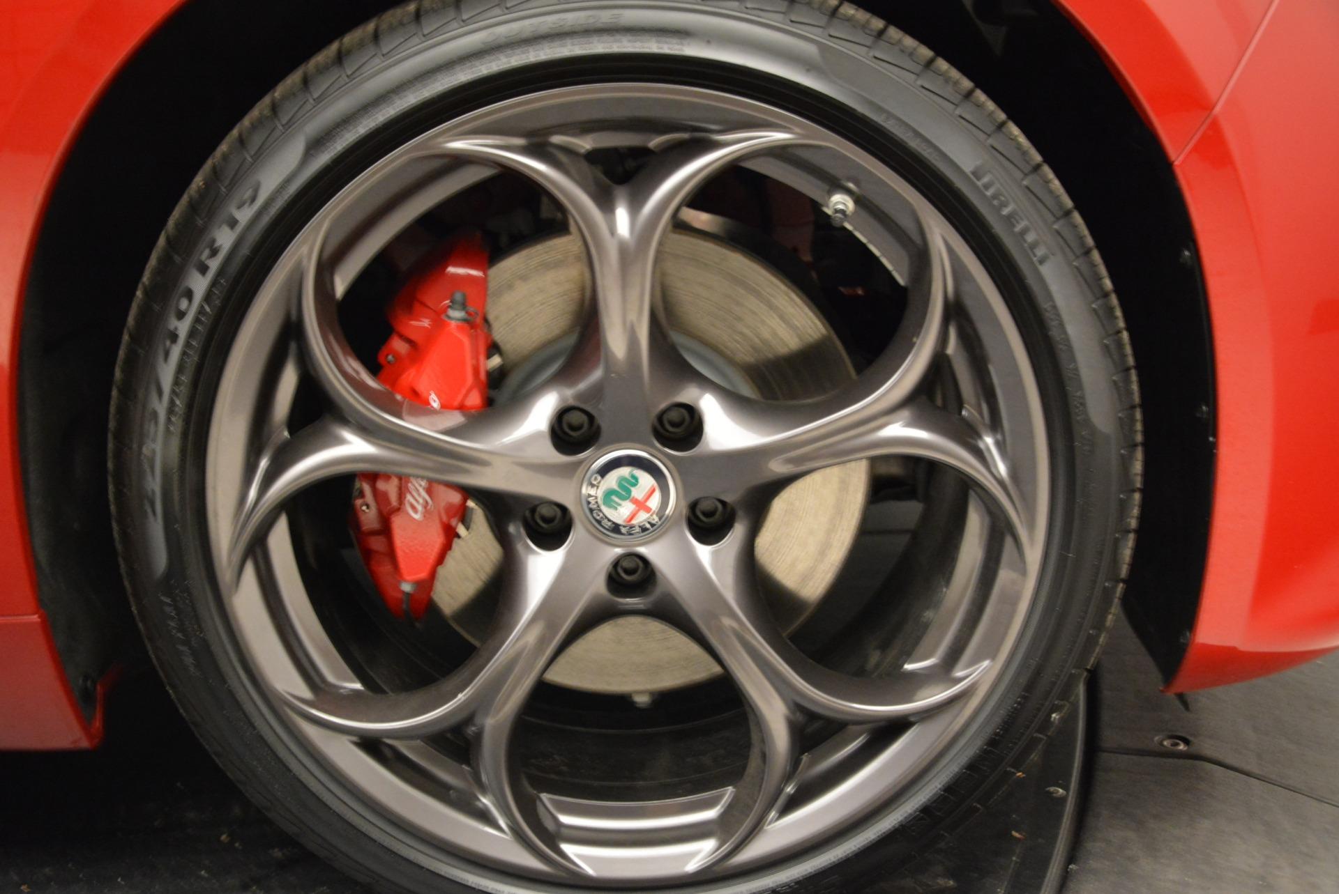 New 2018 Alfa Romeo Giulia Ti Sport Q4 For Sale In Greenwich, CT. Alfa Romeo of Greenwich, L420 2328_p25