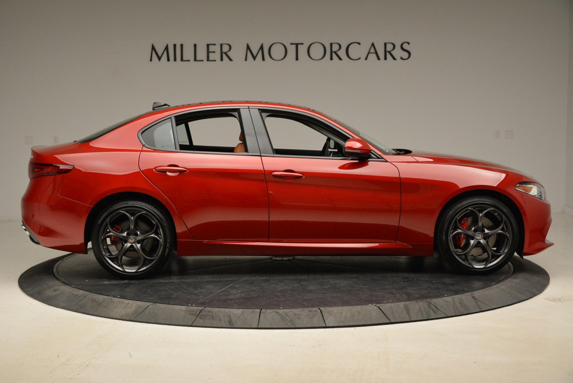 New 2018 Alfa Romeo Giulia Ti Sport Q4 For Sale In Greenwich, CT. Alfa Romeo of Greenwich, L420 2328_p9