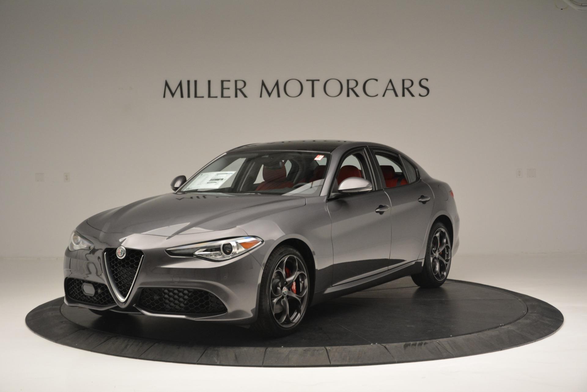 New 2018 Alfa Romeo Giulia Ti Sport Q4 For Sale In Greenwich, CT. Alfa Romeo of Greenwich, L424 2332_main