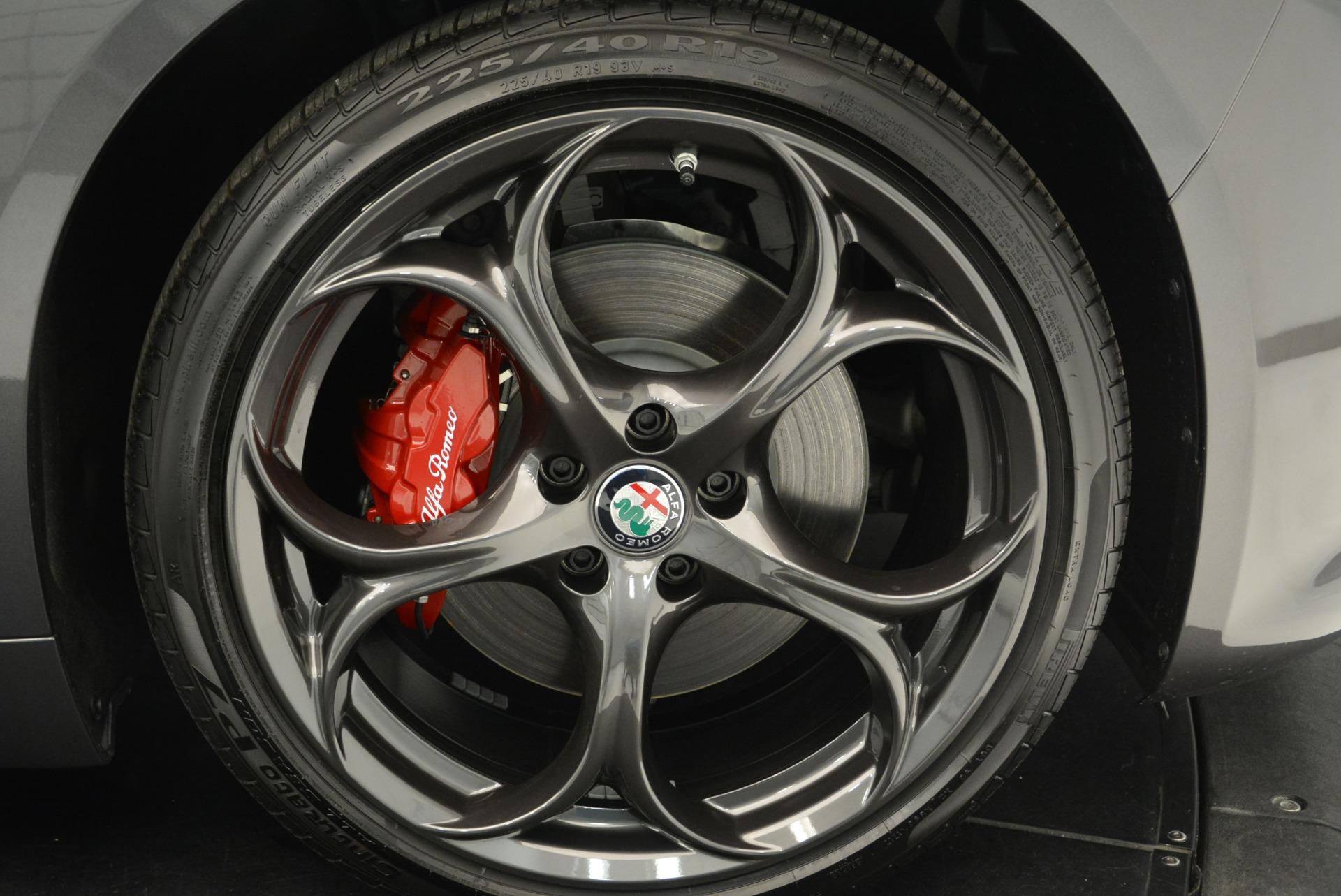 New 2018 Alfa Romeo Giulia Ti Sport Q4 For Sale In Greenwich, CT. Alfa Romeo of Greenwich, L424 2332_p25