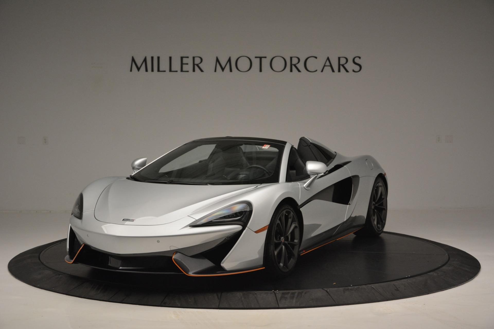Used 2018 McLaren 570S Spider For Sale In Greenwich, CT. Alfa Romeo of Greenwich, MC369 2340_main