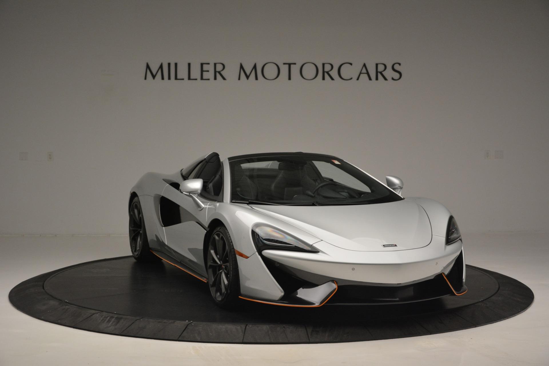 Used 2018 McLaren 570S Spider For Sale In Greenwich, CT. Alfa Romeo of Greenwich, MC369 2340_p11