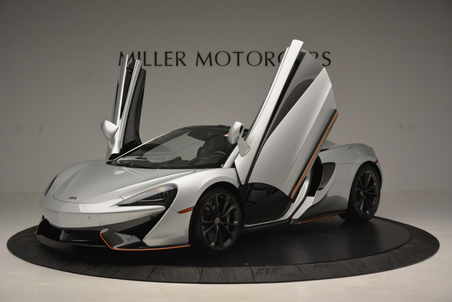 Used 2018 McLaren 570S Spider For Sale In Greenwich, CT. Alfa Romeo of Greenwich, MC369 2340_p14