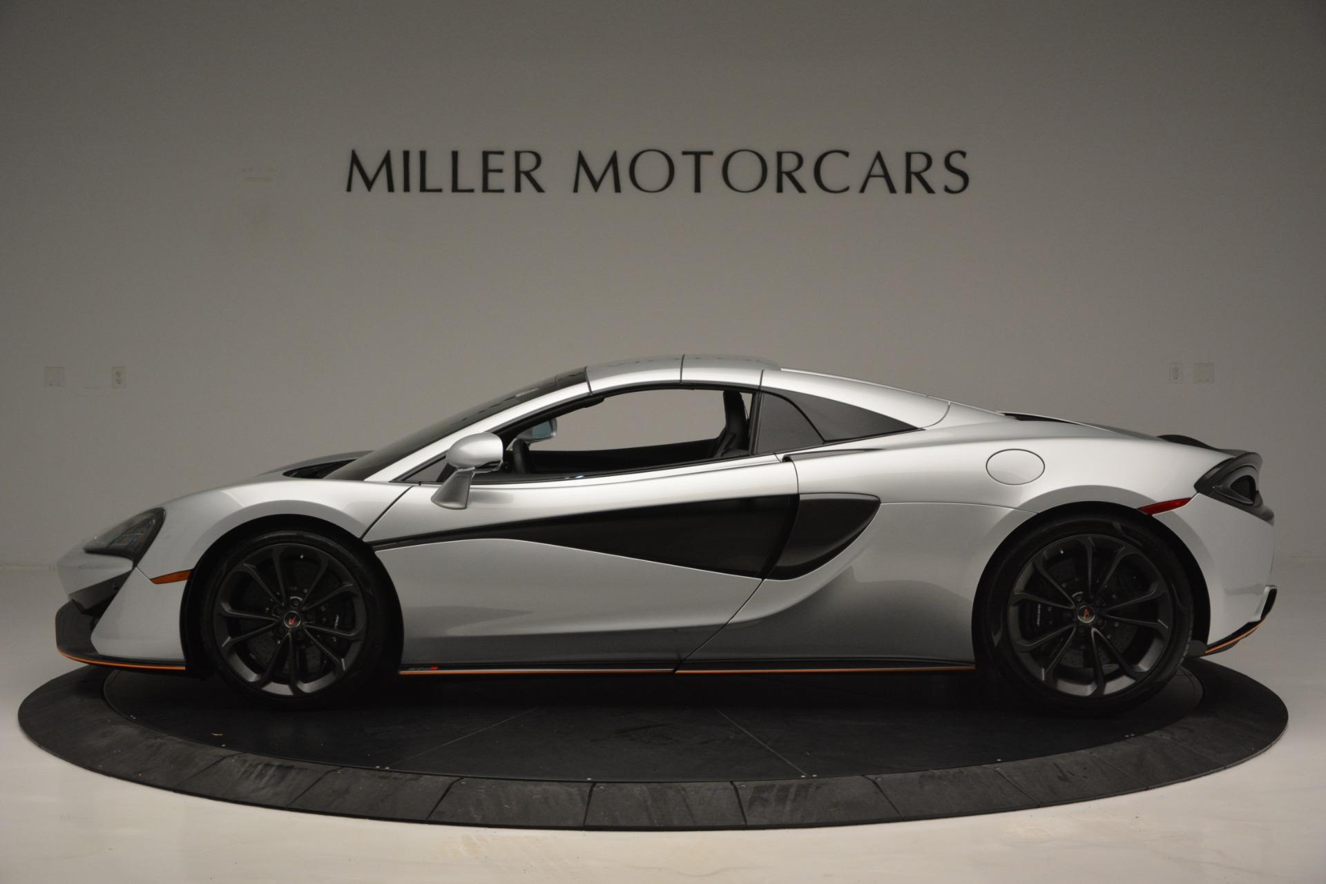 Used 2018 McLaren 570S Spider For Sale In Greenwich, CT. Alfa Romeo of Greenwich, MC369 2340_p16
