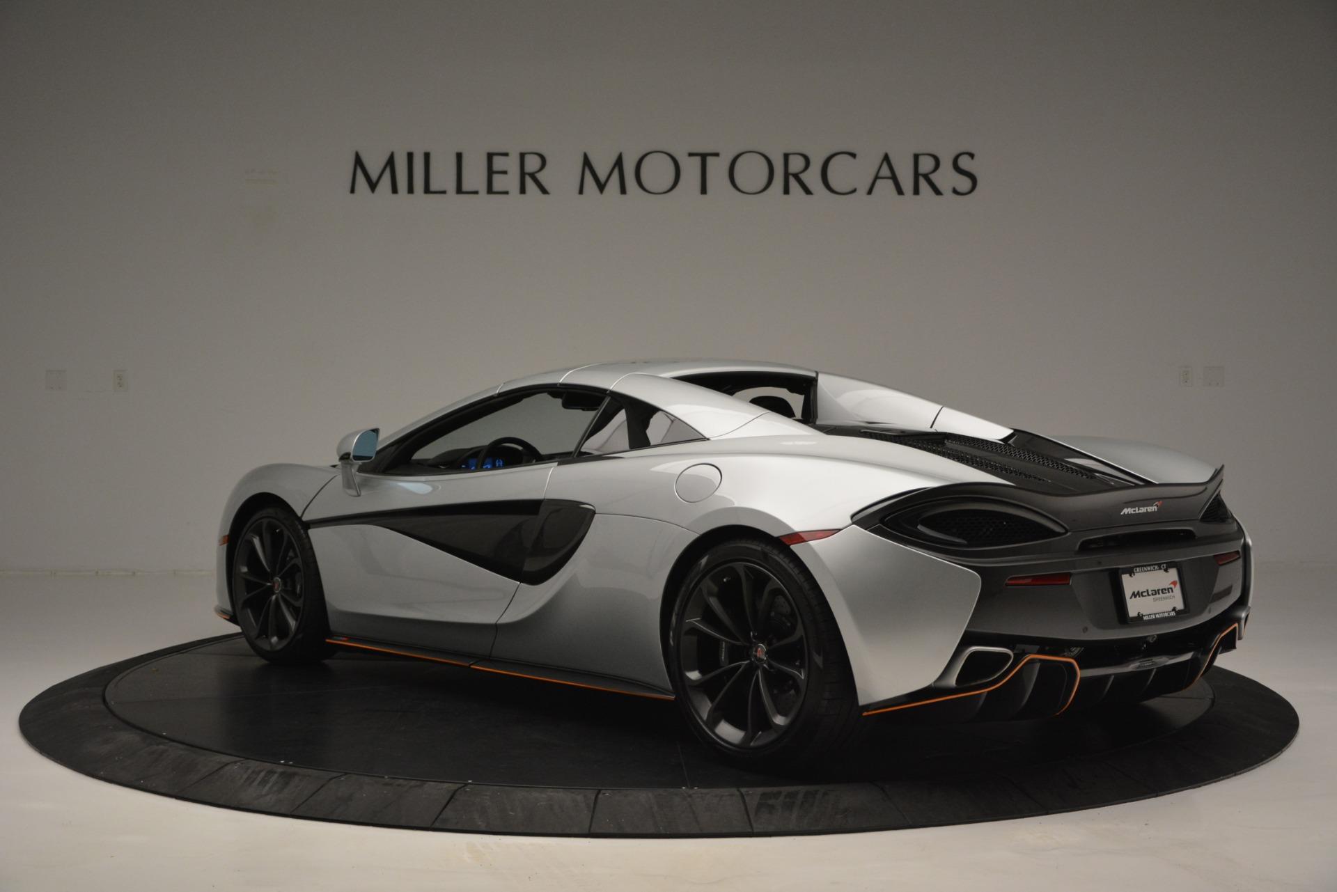 Used 2018 McLaren 570S Spider For Sale In Greenwich, CT. Alfa Romeo of Greenwich, MC369 2340_p17