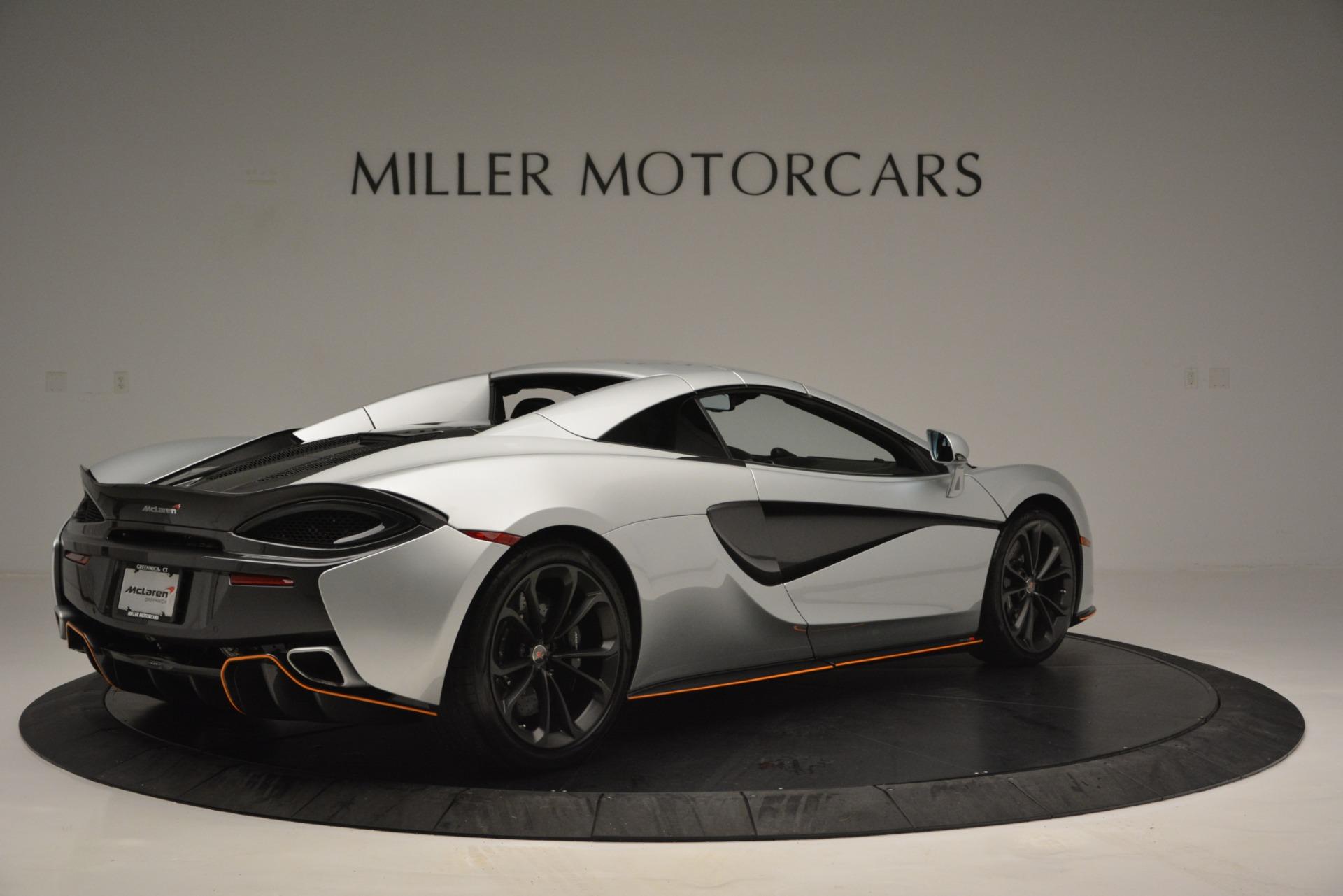 Used 2018 McLaren 570S Spider For Sale In Greenwich, CT. Alfa Romeo of Greenwich, MC369 2340_p19