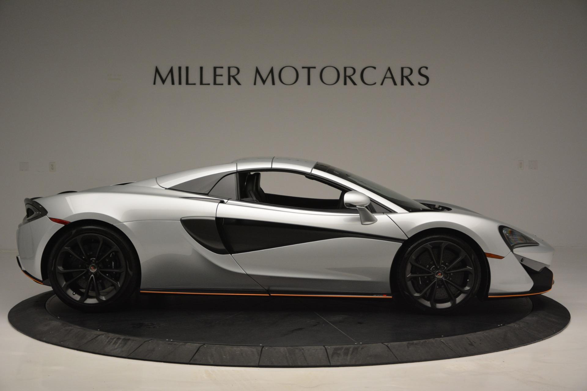 Used 2018 McLaren 570S Spider For Sale In Greenwich, CT. Alfa Romeo of Greenwich, MC369 2340_p20