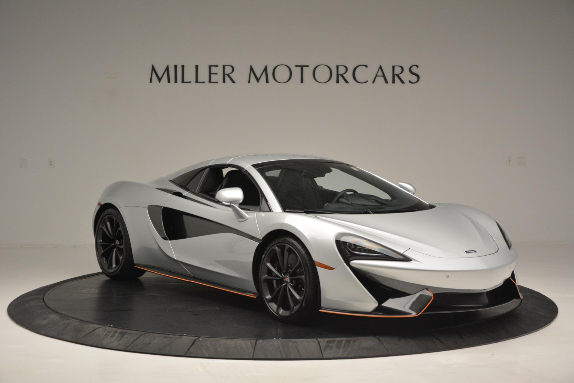 Used 2018 McLaren 570S Spider For Sale In Greenwich, CT. Alfa Romeo of Greenwich, MC369 2340_p21