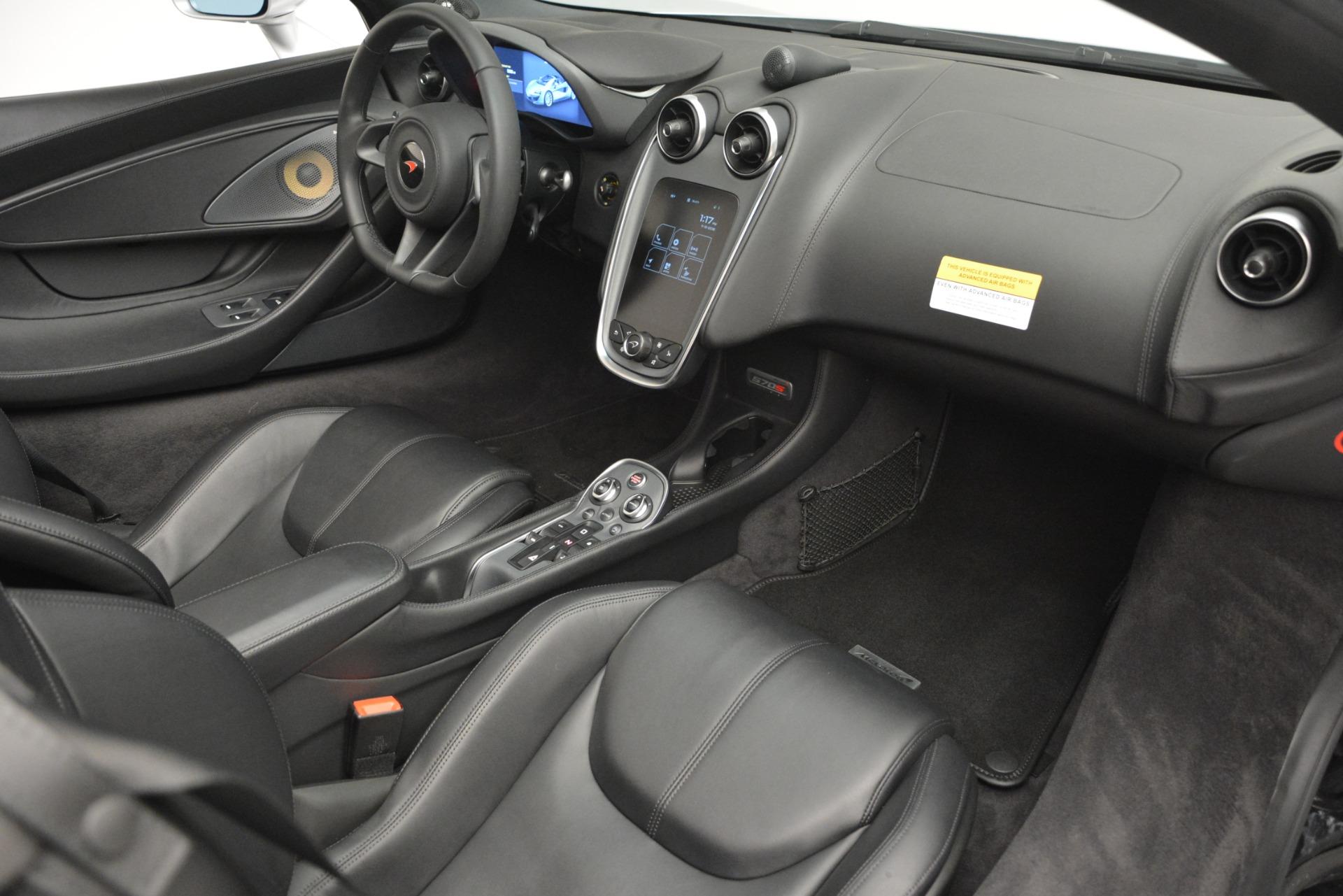 Used 2018 McLaren 570S Spider For Sale In Greenwich, CT. Alfa Romeo of Greenwich, MC369 2340_p26
