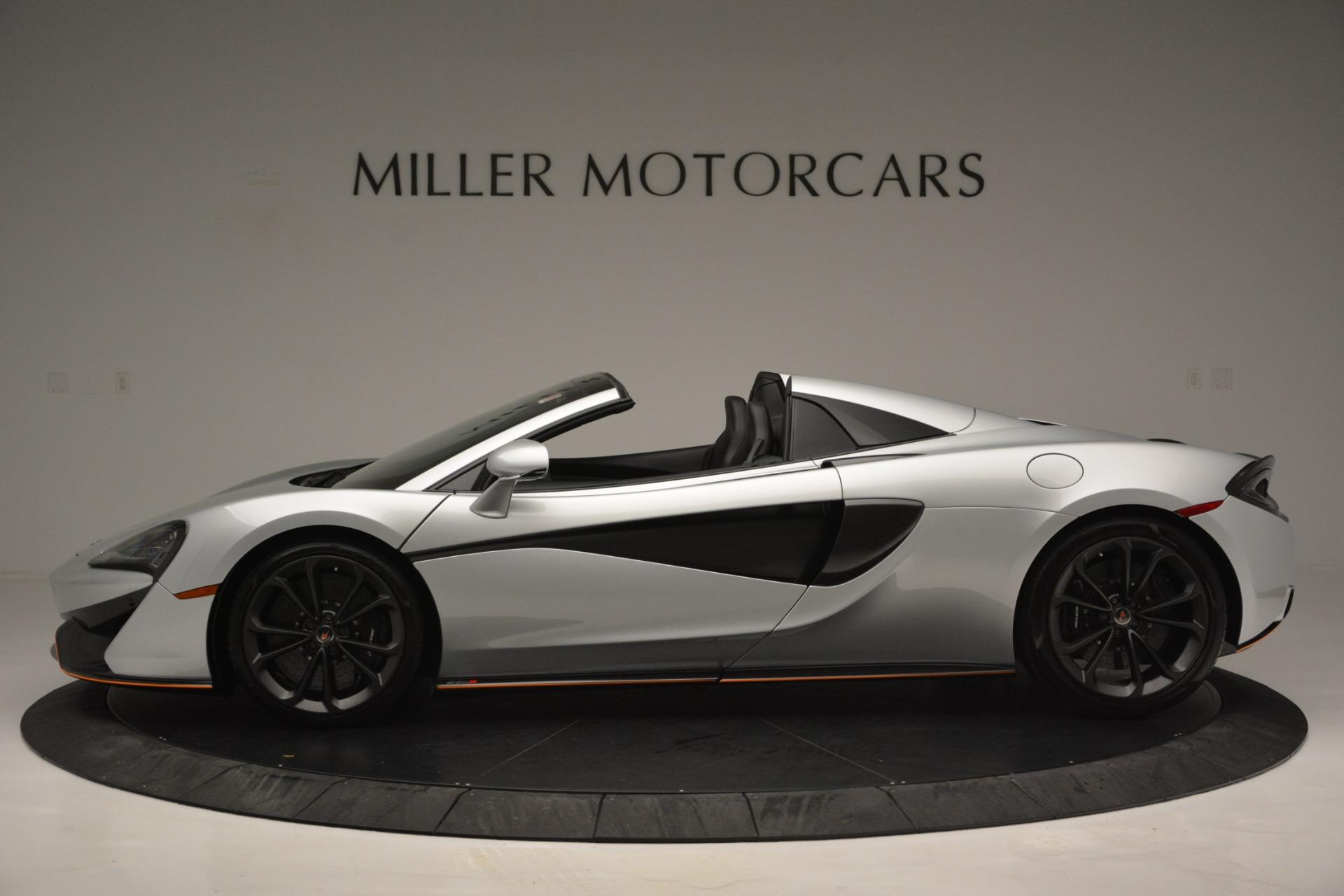Used 2018 McLaren 570S Spider For Sale In Greenwich, CT. Alfa Romeo of Greenwich, MC369 2340_p3