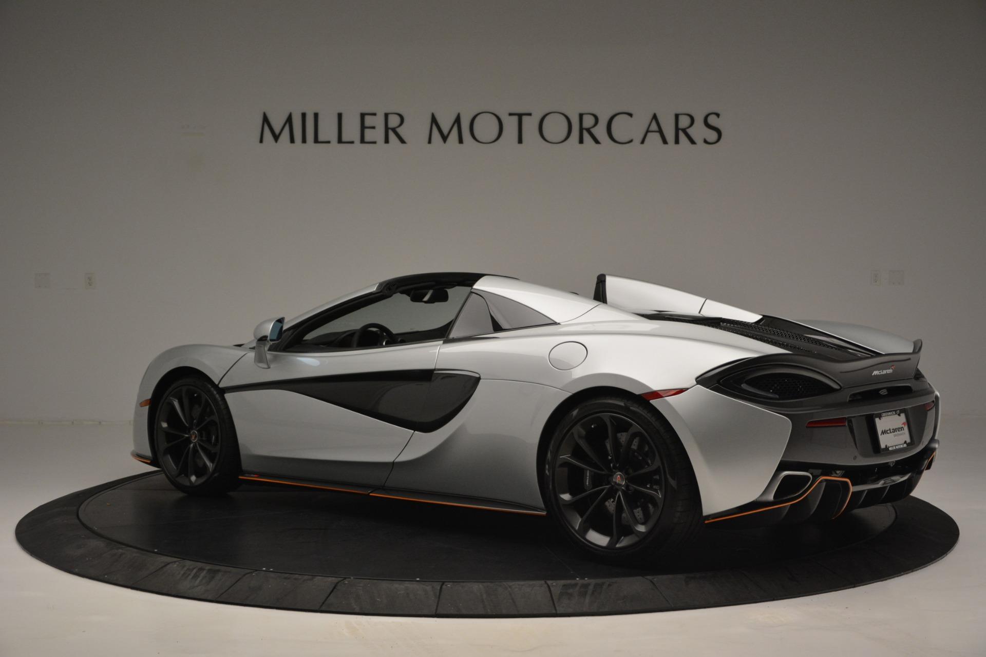 Used 2018 McLaren 570S Spider For Sale In Greenwich, CT. Alfa Romeo of Greenwich, MC369 2340_p4