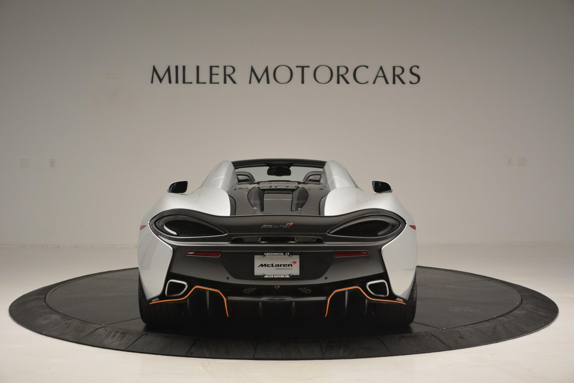 Used 2018 McLaren 570S Spider For Sale In Greenwich, CT. Alfa Romeo of Greenwich, MC369 2340_p6