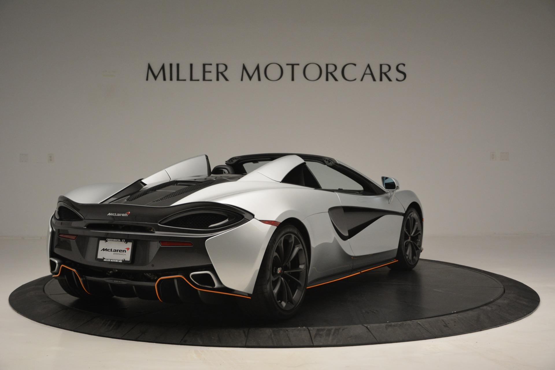 Used 2018 McLaren 570S Spider For Sale In Greenwich, CT. Alfa Romeo of Greenwich, MC369 2340_p7