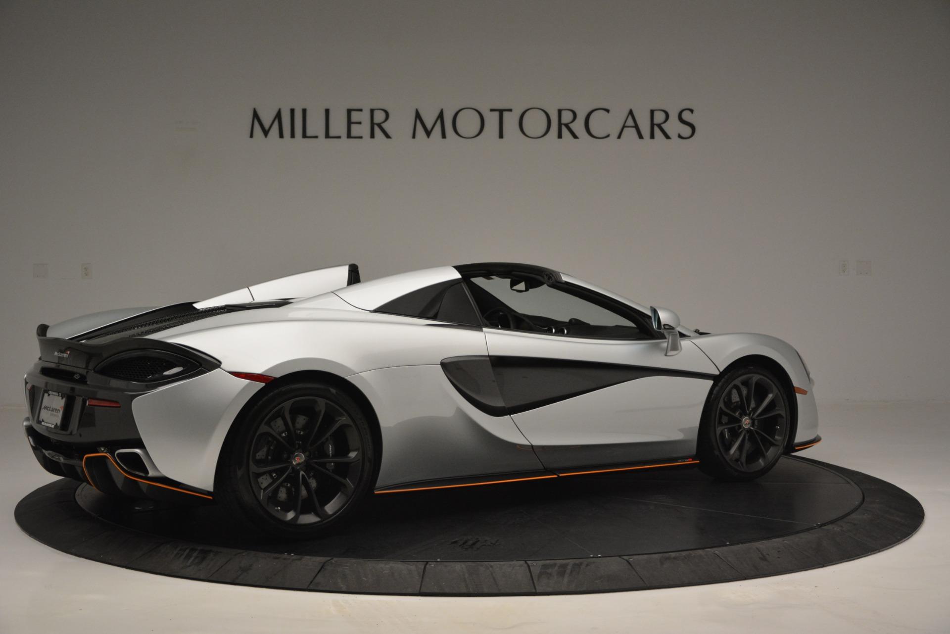 Used 2018 McLaren 570S Spider For Sale In Greenwich, CT. Alfa Romeo of Greenwich, MC369 2340_p8