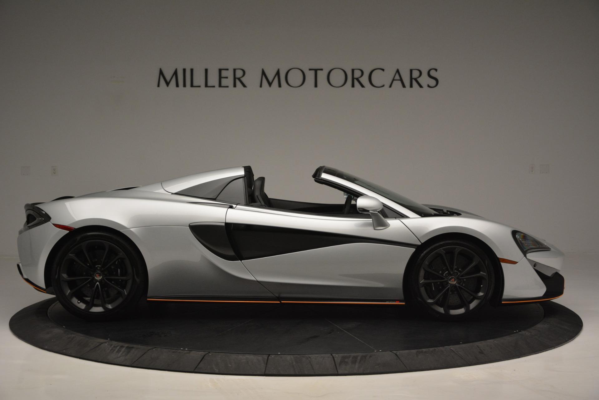 Used 2018 McLaren 570S Spider For Sale In Greenwich, CT. Alfa Romeo of Greenwich, MC369 2340_p9