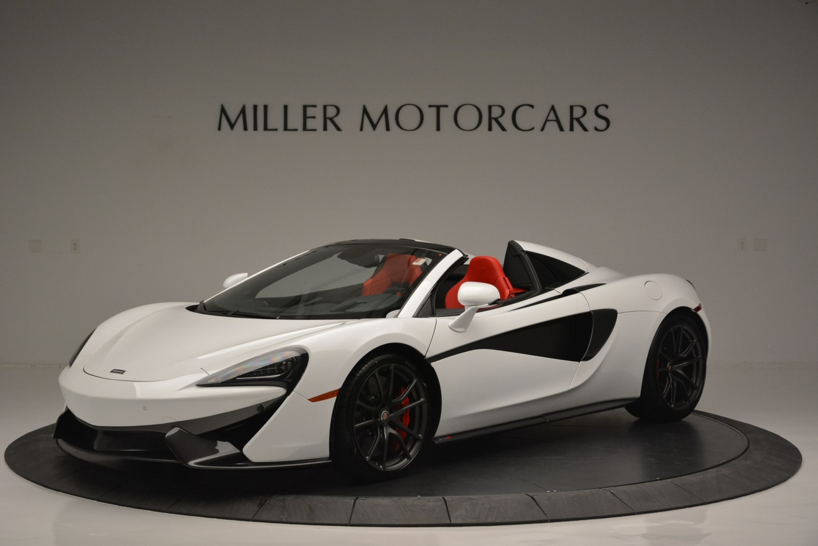 Used 2018 McLaren 570S Spider For Sale In Greenwich, CT. Alfa Romeo of Greenwich, 3149 2341_p2
