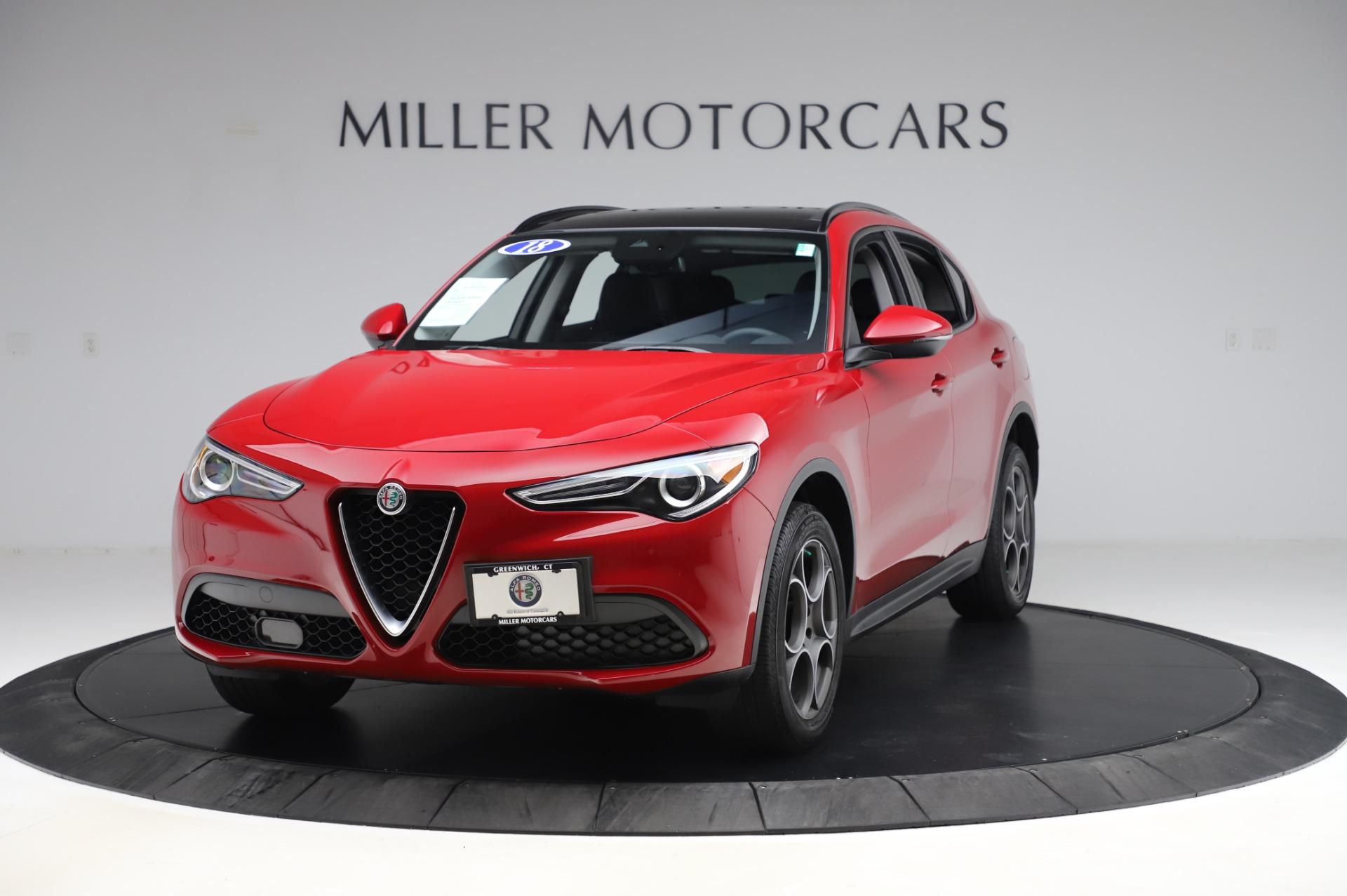 New 2018 Alfa Romeo Stelvio Sport Q4 For Sale In Greenwich, CT. Alfa Romeo of Greenwich, L426 2342_main