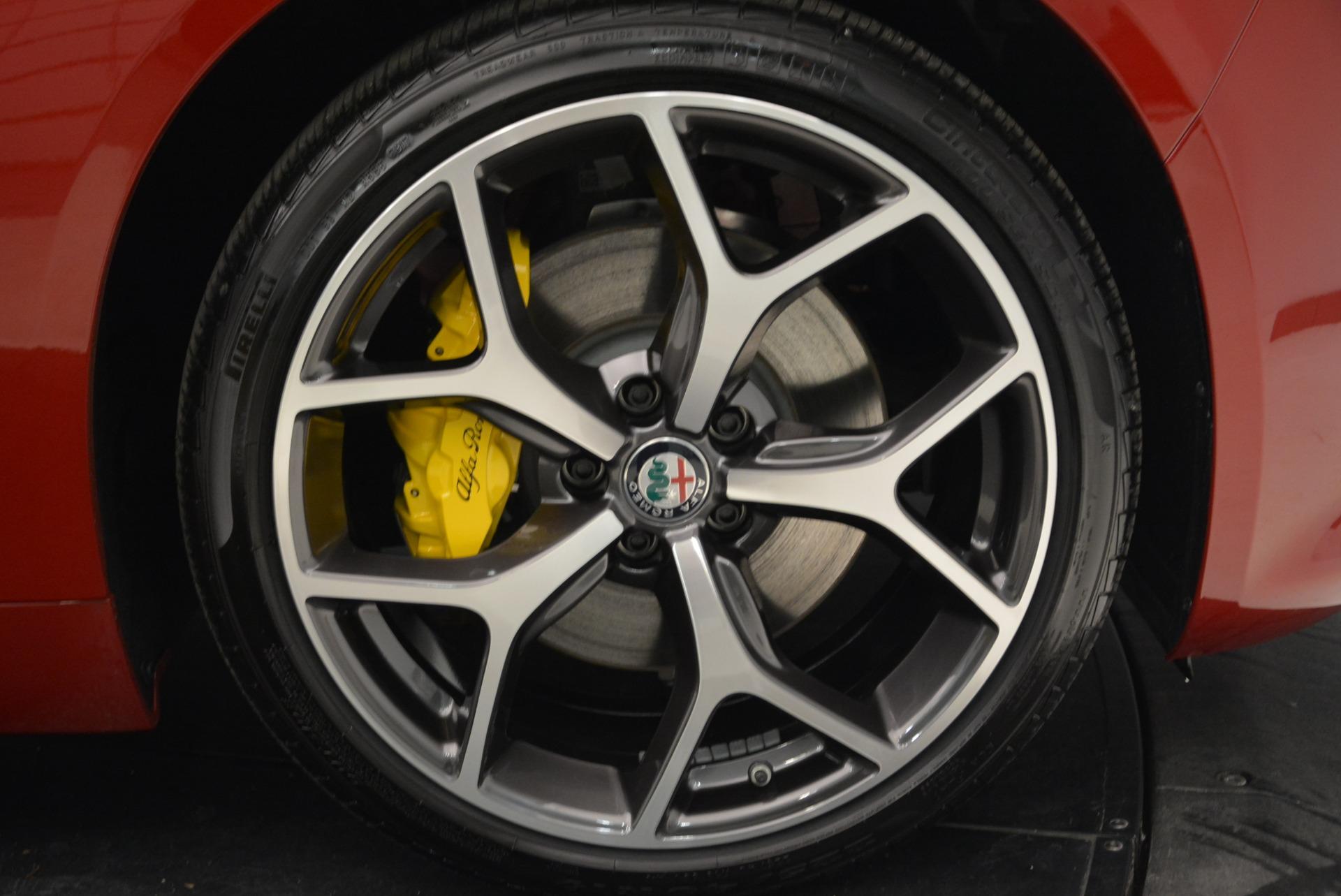 New 2018 Alfa Romeo Giulia Ti Sport Q4 For Sale In Greenwich, CT. Alfa Romeo of Greenwich, L430 2346_p25