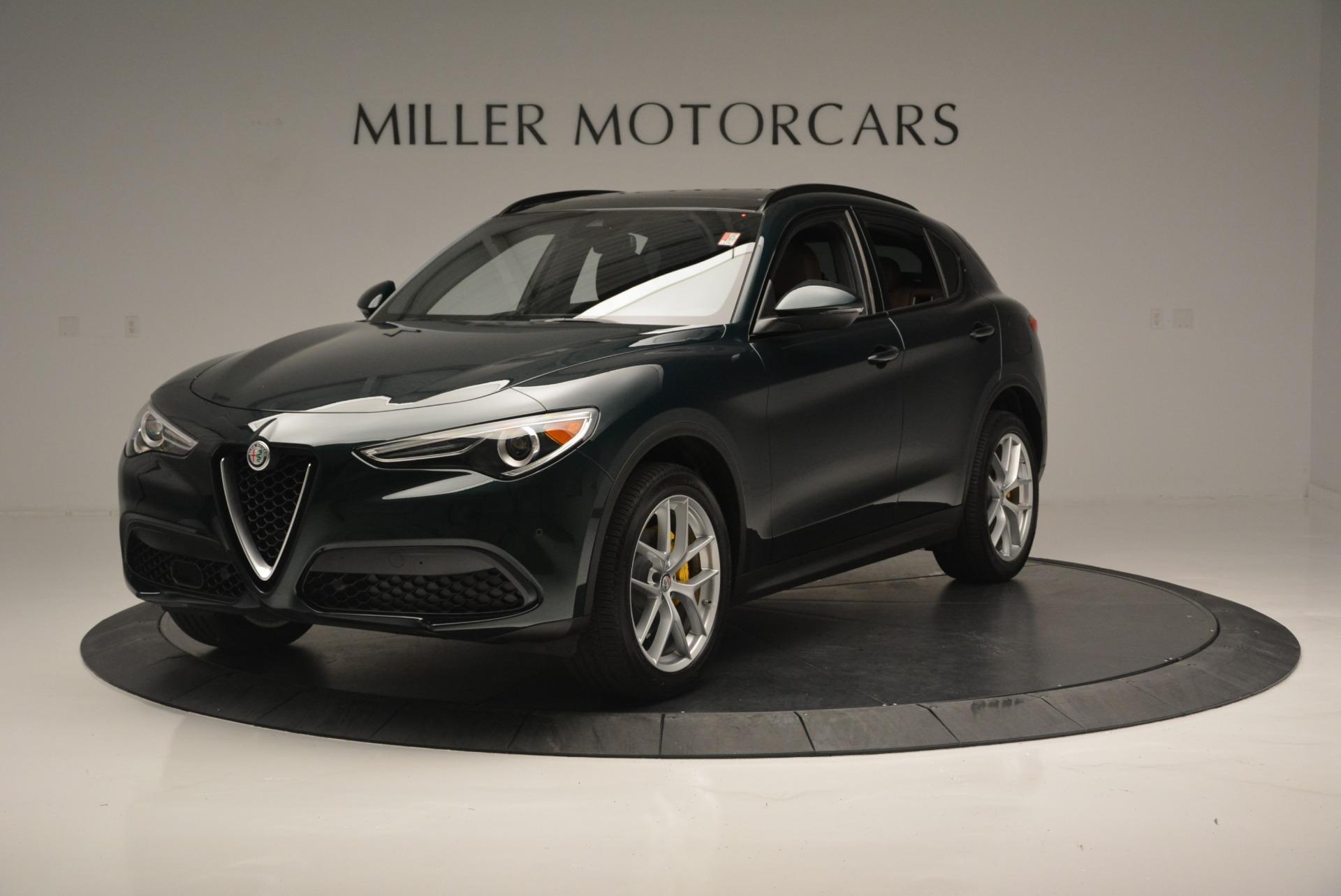 New 2018 Alfa Romeo Stelvio Ti Sport Q4 For Sale In Greenwich, CT. Alfa Romeo of Greenwich, LW196 2353_p2