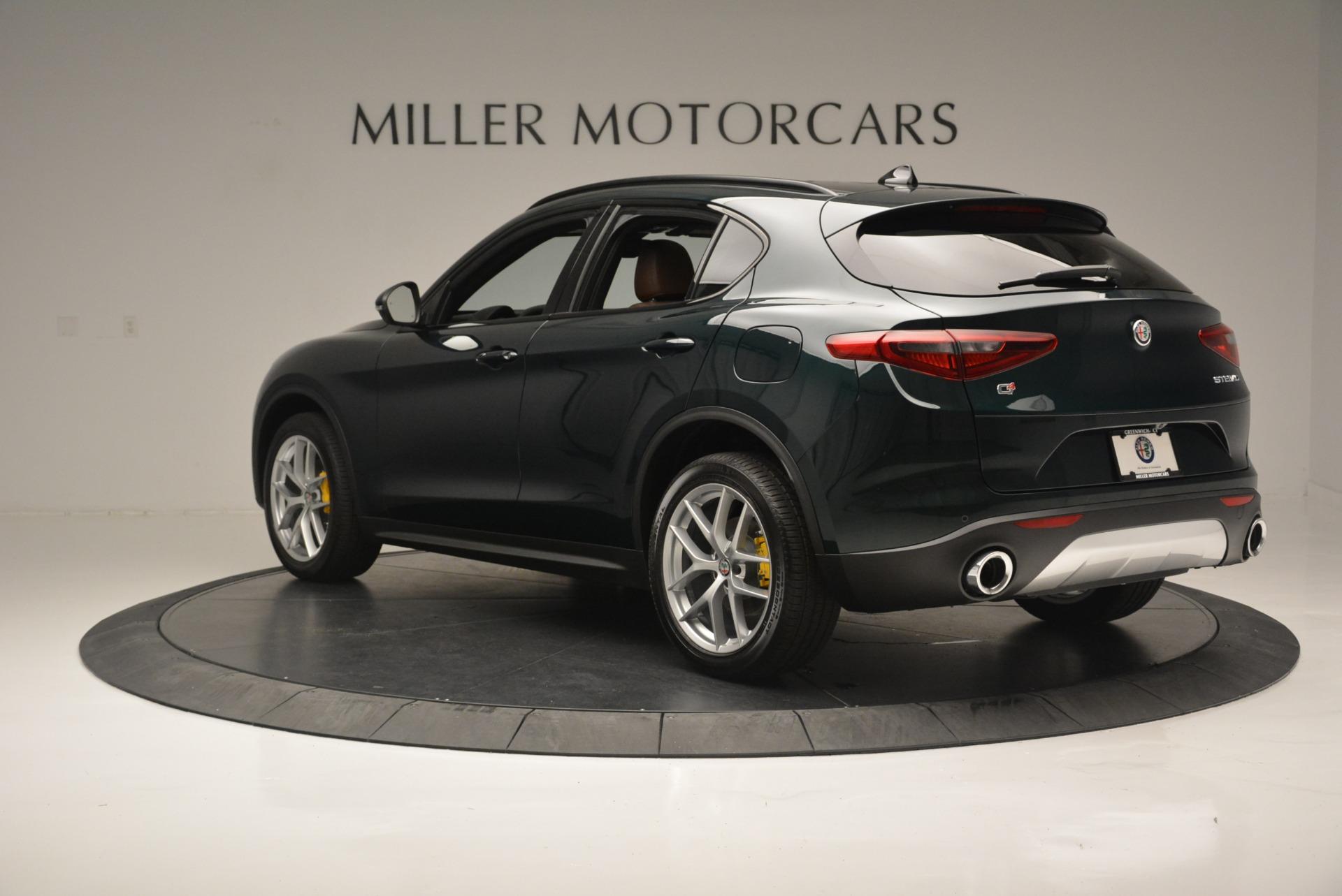 New 2018 Alfa Romeo Stelvio Ti Sport Q4 For Sale In Greenwich, CT. Alfa Romeo of Greenwich, LW196 2353_p6