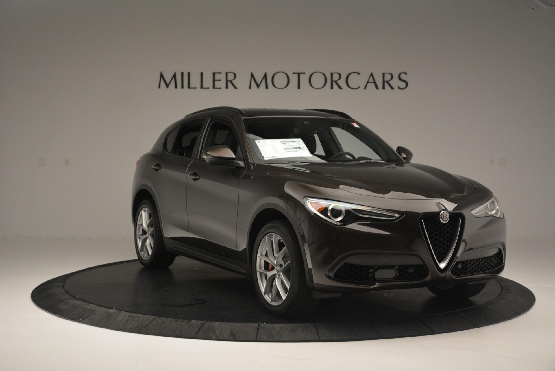 New 2018 Alfa Romeo Stelvio Ti Sport Q4 For Sale In Greenwich, CT. Alfa Romeo of Greenwich, L433 2354_p11
