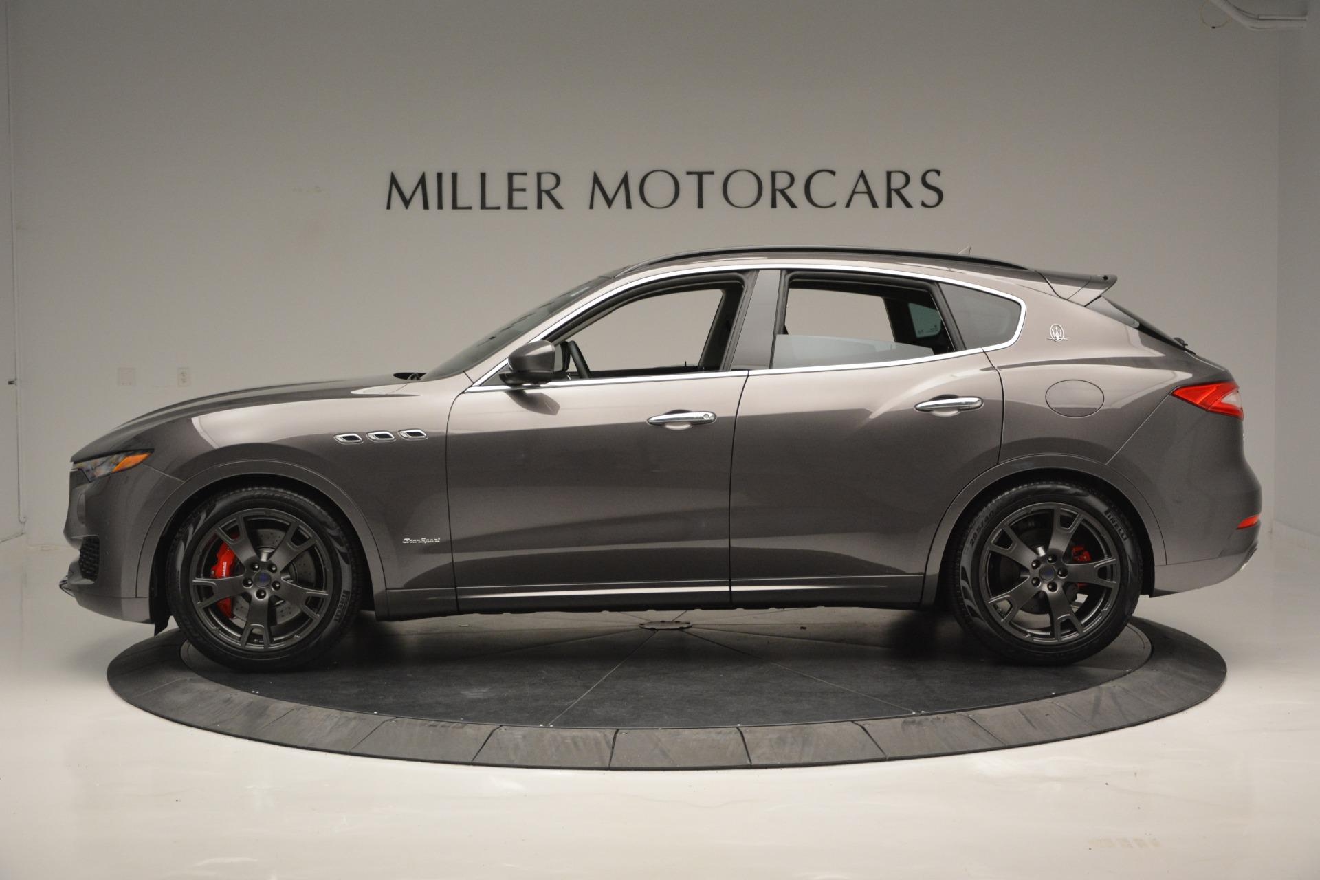 New 2018 Maserati Levante S Q4 GranSport For Sale In Greenwich, CT. Alfa Romeo of Greenwich, M2167 2360_p3