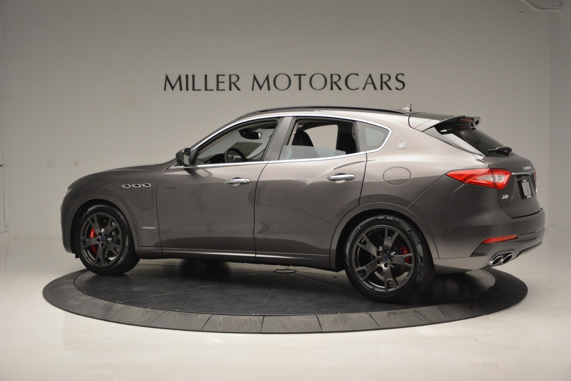 New 2018 Maserati Levante S Q4 GranSport For Sale In Greenwich, CT. Alfa Romeo of Greenwich, M2167 2360_p4