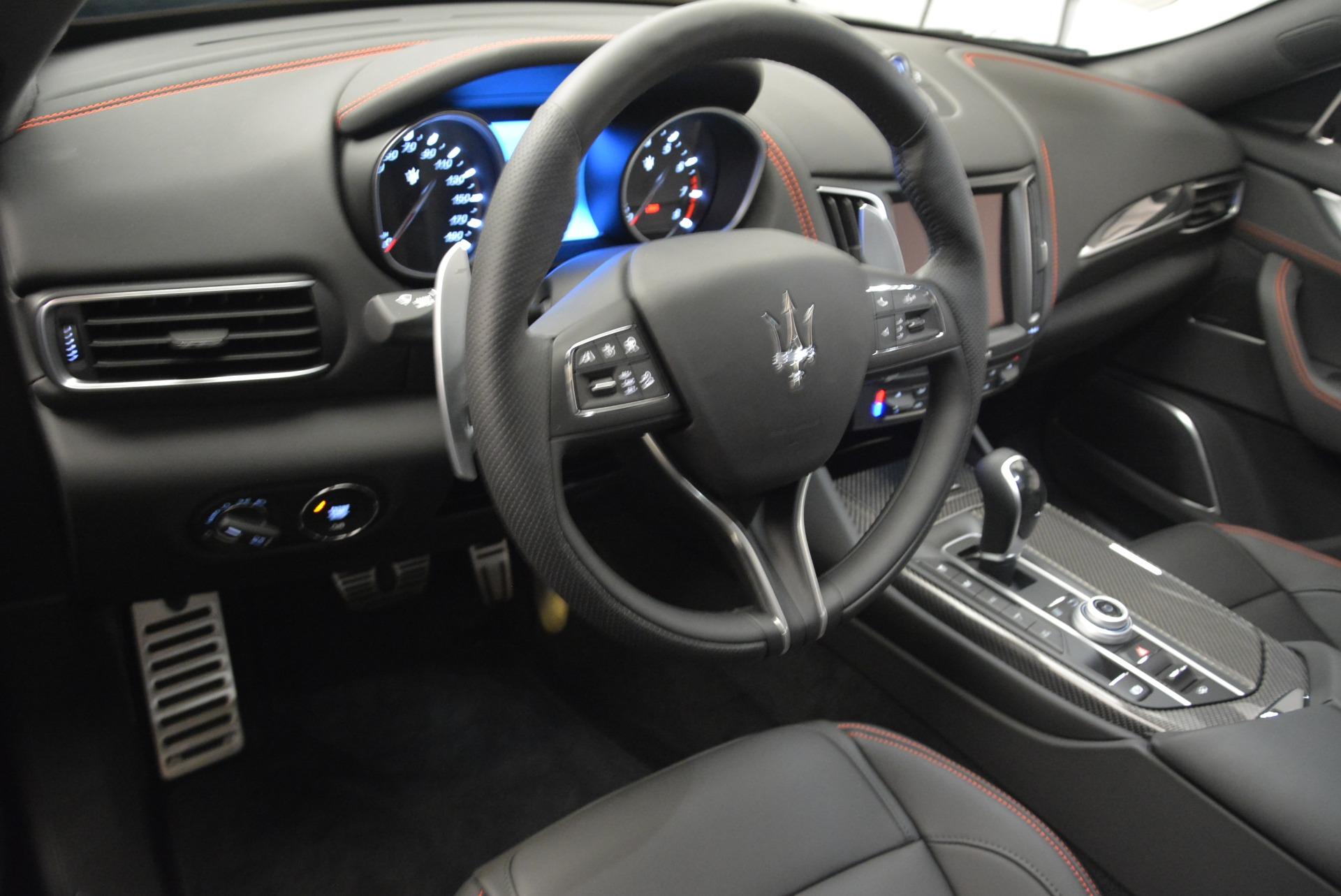 New 2018 Maserati Levante S Q4 GranSport Nerissimo For Sale In Greenwich, CT. Alfa Romeo of Greenwich, M2169 2363_p13