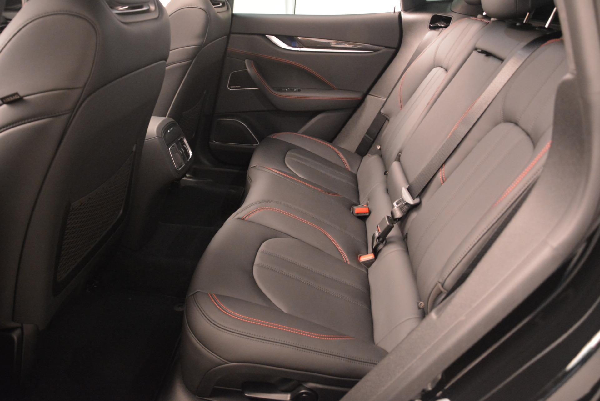 New 2018 Maserati Levante S Q4 GranSport Nerissimo For Sale In Greenwich, CT. Alfa Romeo of Greenwich, M2169 2363_p17