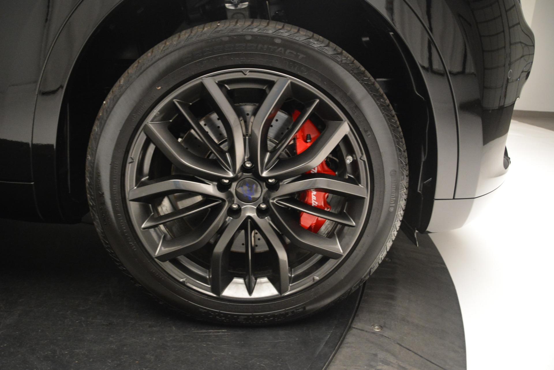 New 2018 Maserati Levante S Q4 GranSport Nerissimo For Sale In Greenwich, CT. Alfa Romeo of Greenwich, M2169 2363_p25