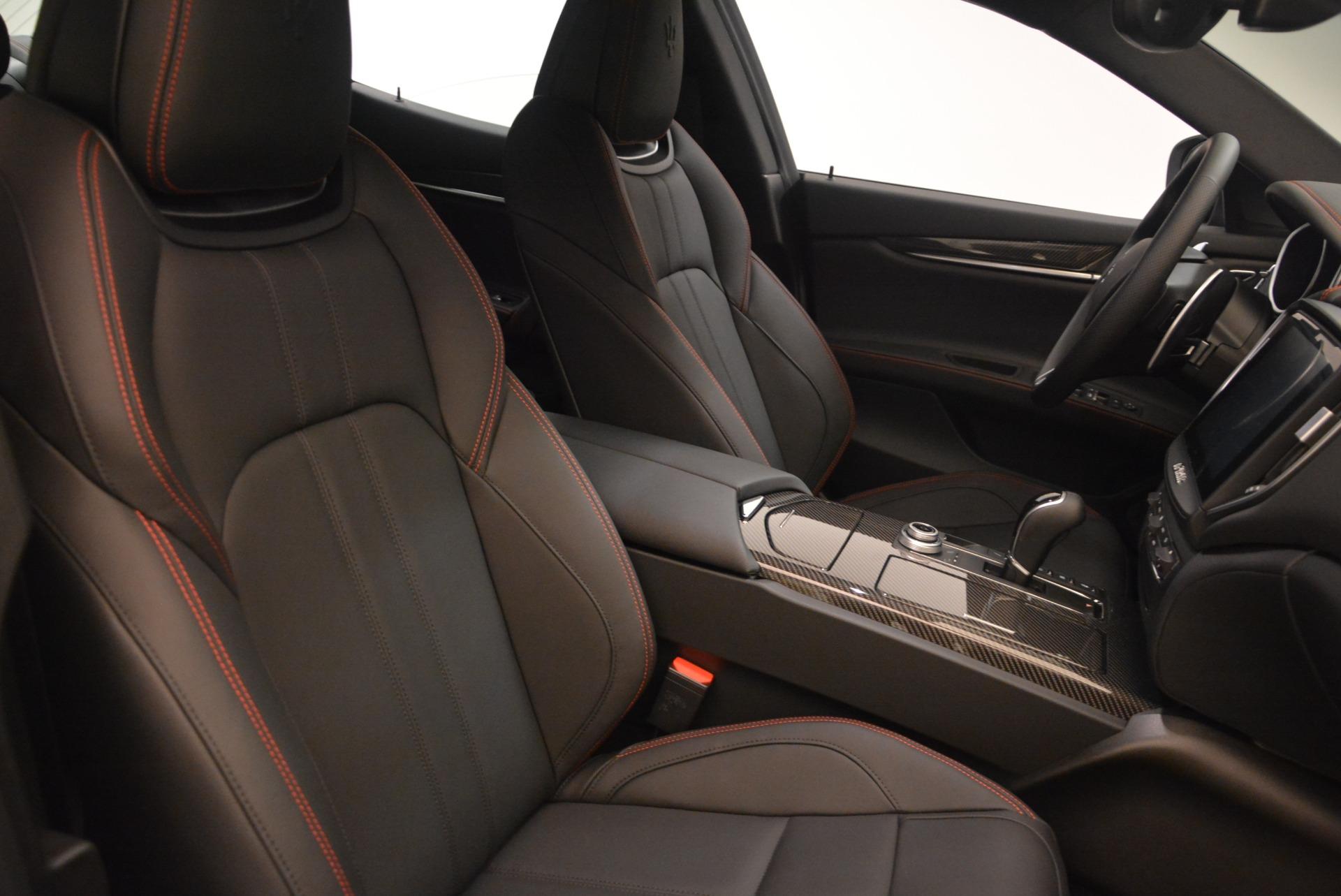 New 2018 Maserati Ghibli SQ4 GranSport Nerissimo For Sale In Greenwich, CT. Alfa Romeo of Greenwich, M2171 2366_p17