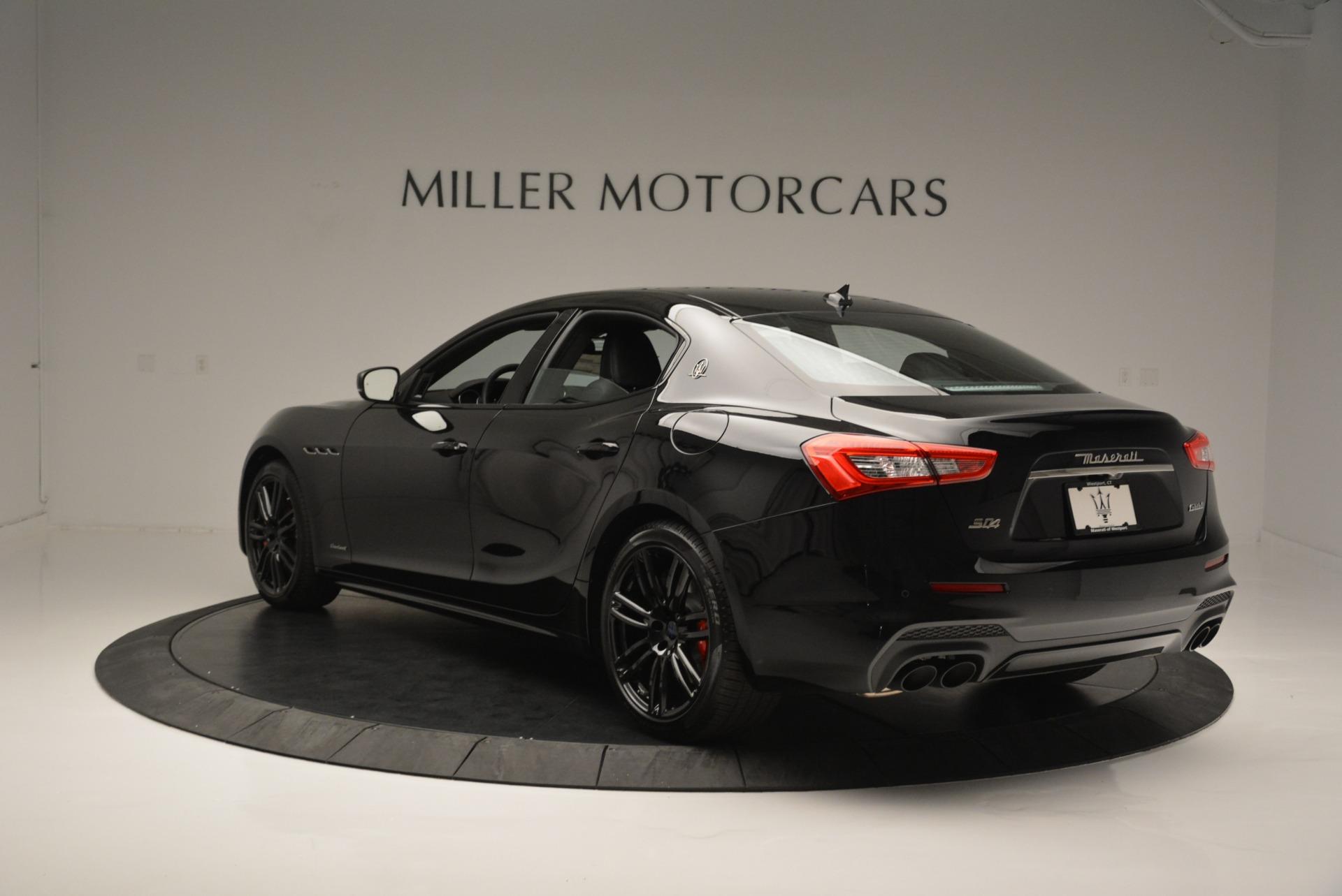 New 2018 Maserati Ghibli SQ4 GranSport Nerissimo For Sale In Greenwich, CT. Alfa Romeo of Greenwich, M2171 2366_p5