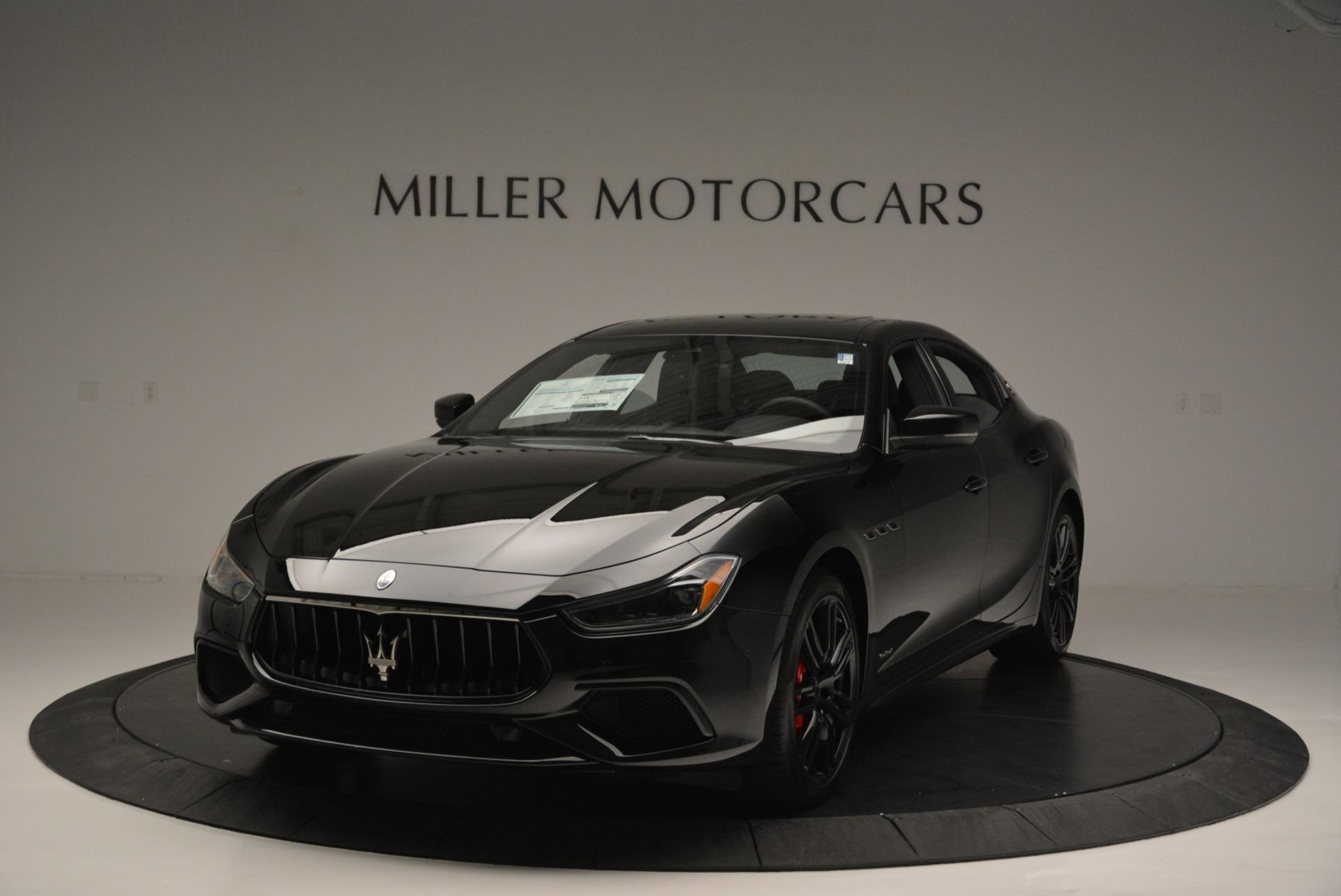 New 2018 Maserati Ghibli SQ4 GranSport Nerissimo For Sale In Greenwich, CT. Alfa Romeo of Greenwich, M2173 2368_main