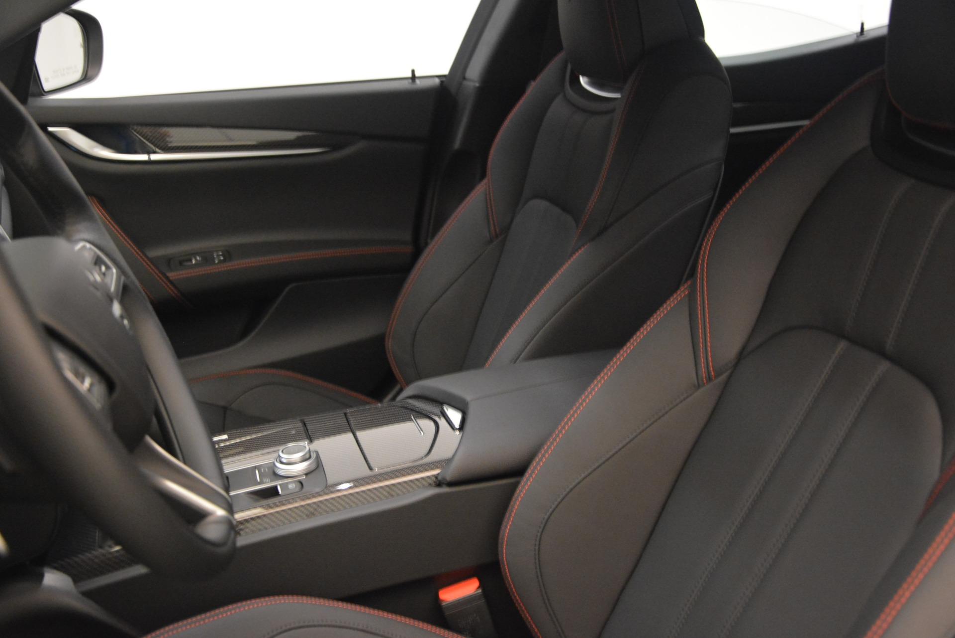 New 2018 Maserati Ghibli SQ4 GranSport Nerissimo For Sale In Greenwich, CT. Alfa Romeo of Greenwich, M2173 2368_p15