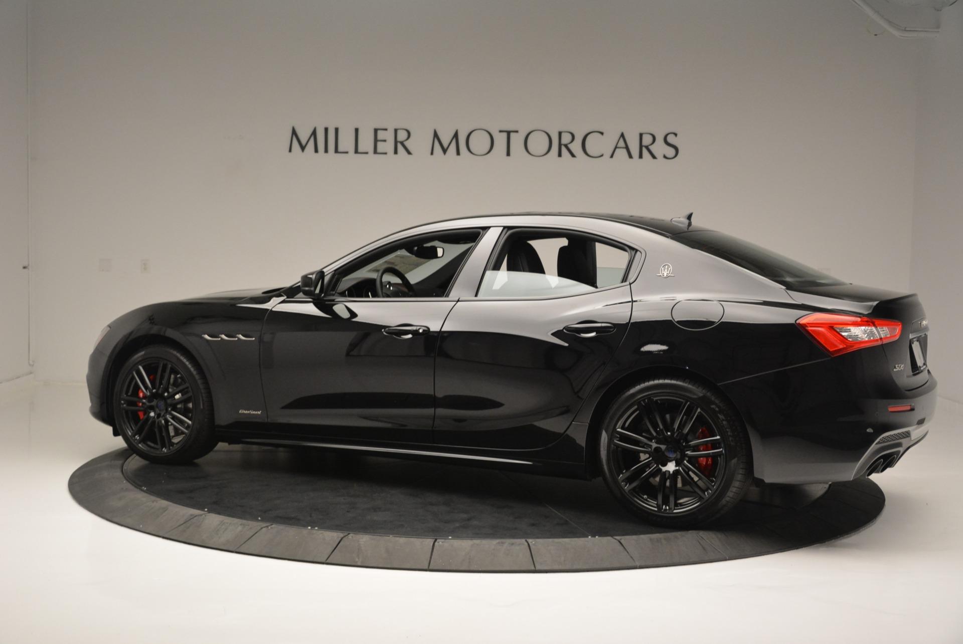 New 2018 Maserati Ghibli SQ4 GranSport Nerissimo For Sale In Greenwich, CT. Alfa Romeo of Greenwich, M2173 2368_p4