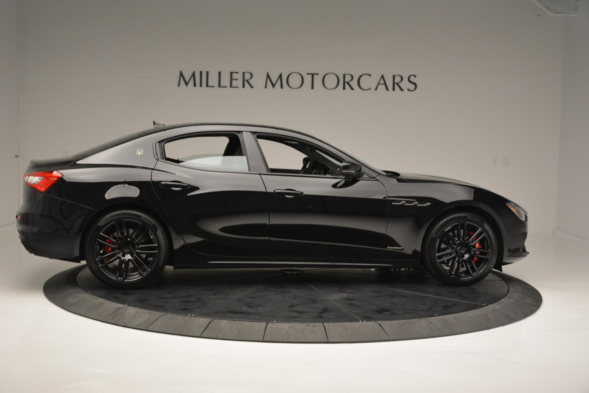 New 2018 Maserati Ghibli SQ4 GranSport Nerissimo For Sale In Greenwich, CT. Alfa Romeo of Greenwich, M2173 2368_p9
