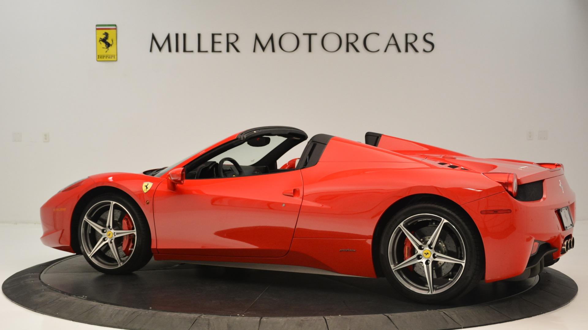 Used 2015 Ferrari 458 Spider  For Sale In Greenwich, CT. Alfa Romeo of Greenwich, 4483A 2369_p5