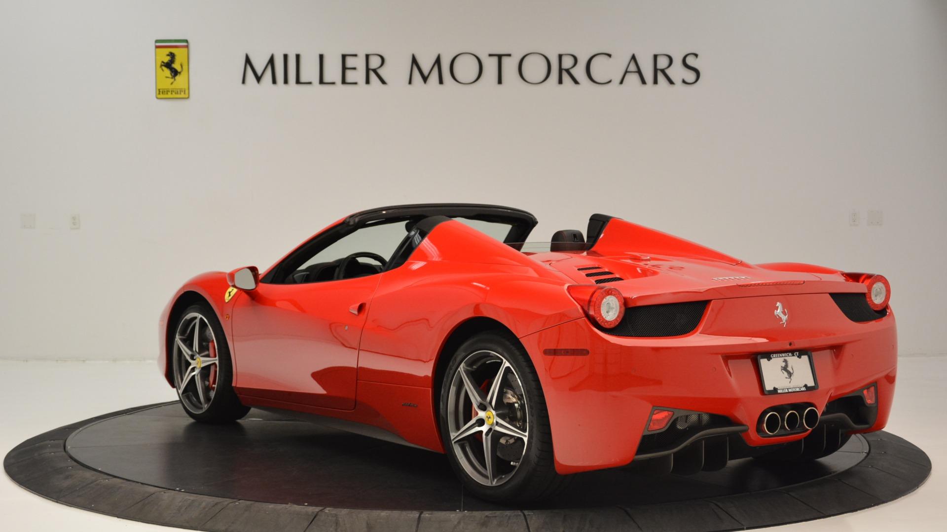 Used 2015 Ferrari 458 Spider  For Sale In Greenwich, CT. Alfa Romeo of Greenwich, 4483A 2369_p6