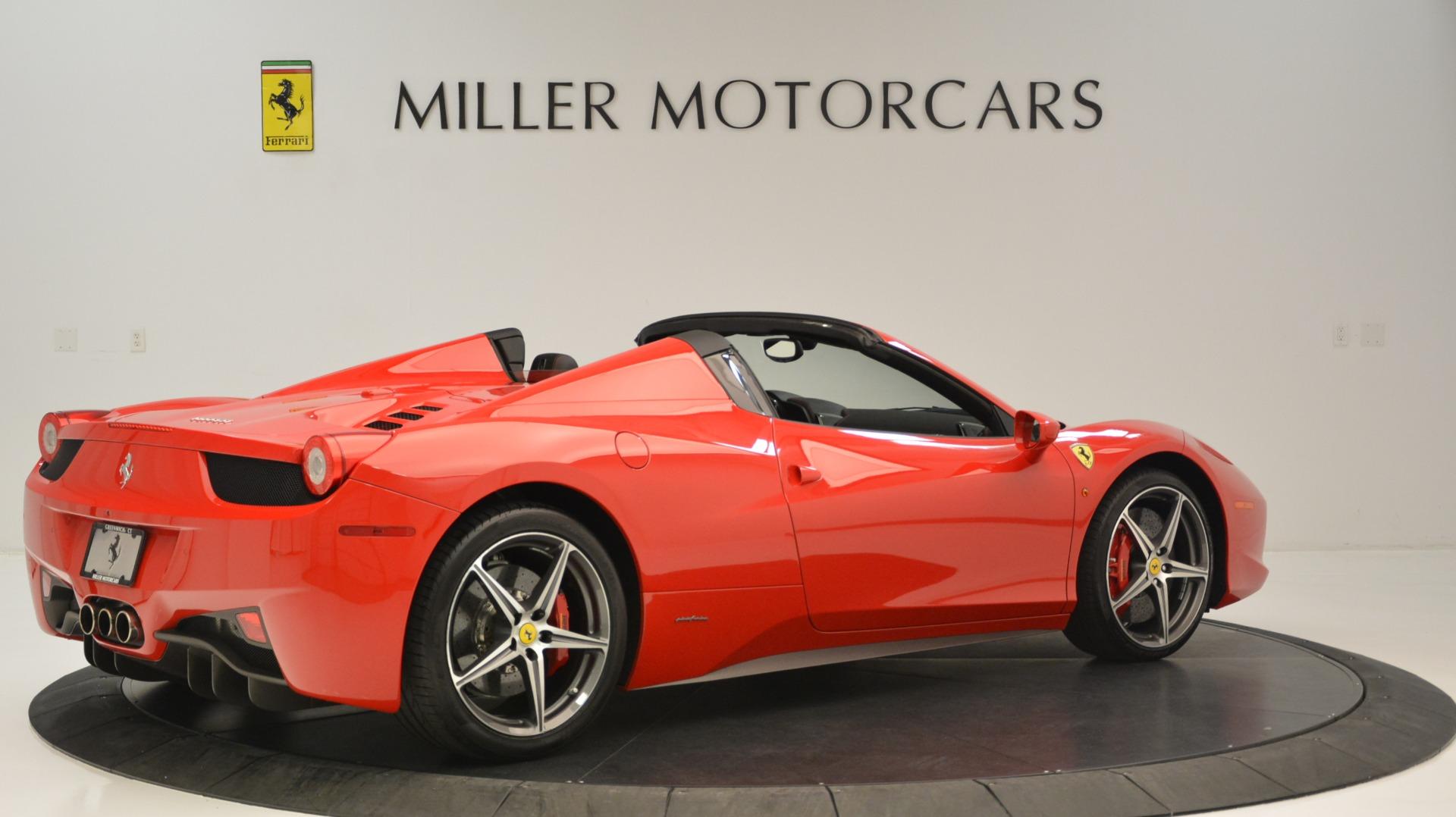 Used 2015 Ferrari 458 Spider  For Sale In Greenwich, CT. Alfa Romeo of Greenwich, 4483A 2369_p9