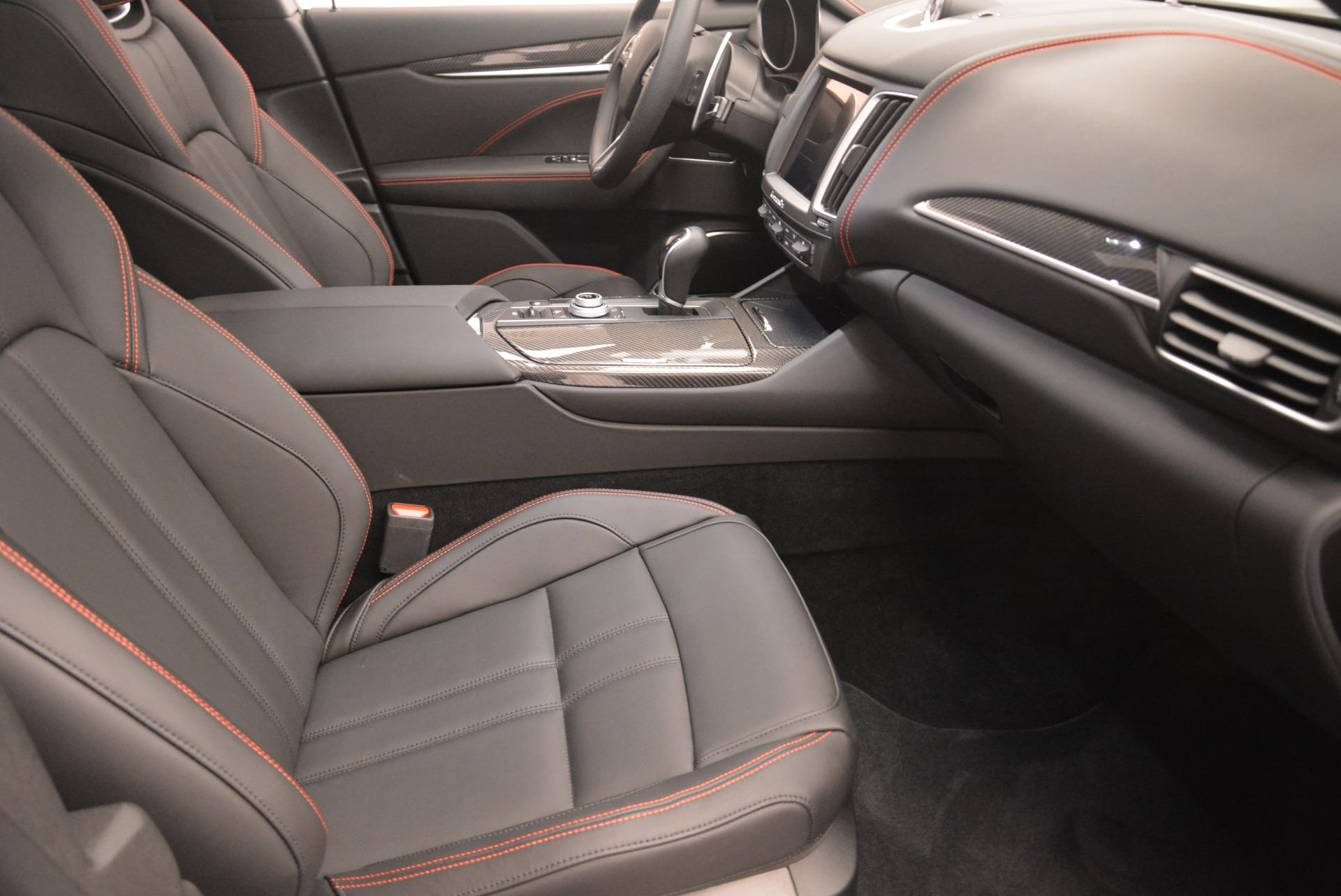 New 2018 Maserati Levante S Q4 GranSport Nerissimo For Sale In Greenwich, CT. Alfa Romeo of Greenwich, W602 2370_p20