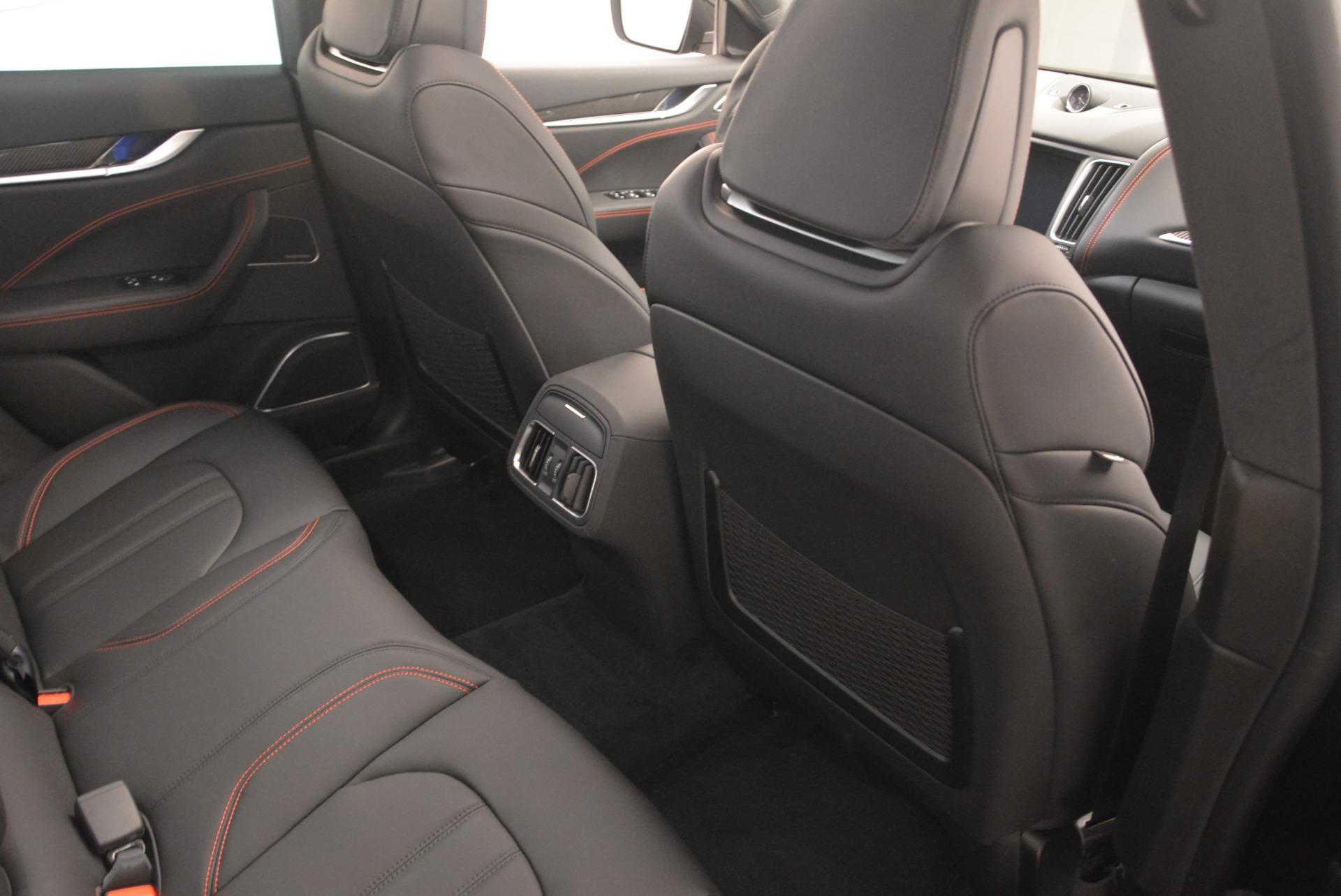 New 2018 Maserati Levante S Q4 GranSport Nerissimo For Sale In Greenwich, CT. Alfa Romeo of Greenwich, W602 2370_p22