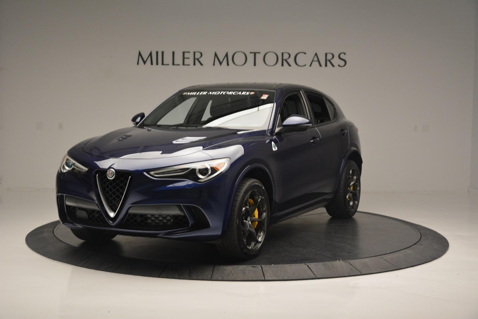 New 2018 Alfa Romeo Stelvio Quadrifoglio For Sale In Greenwich, CT. Alfa Romeo of Greenwich, L435 2371_main
