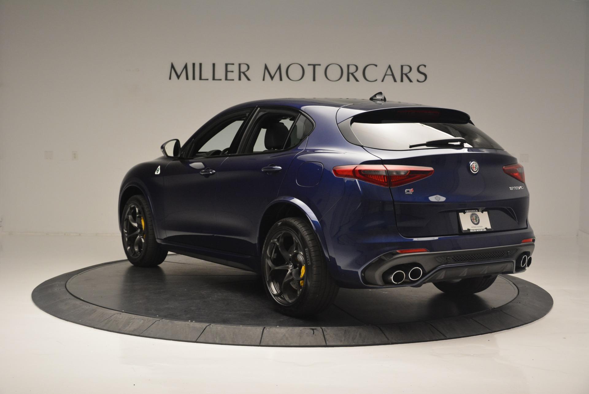 New 2018 Alfa Romeo Stelvio Quadrifoglio For Sale In Greenwich, CT. Alfa Romeo of Greenwich, L435 2371_p5