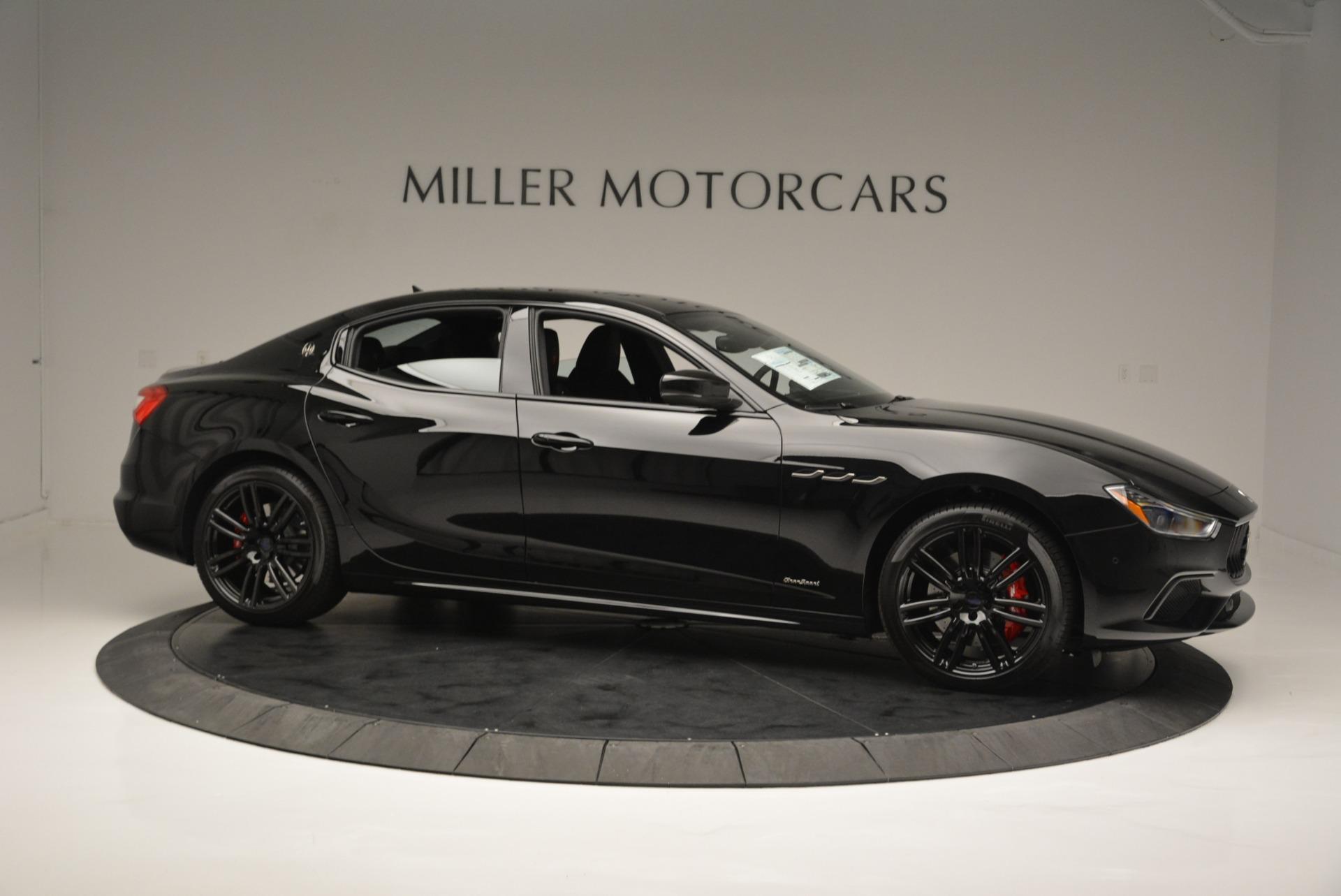 New 2018 Maserati Ghibli SQ4 GranSport Nerissimo For Sale In Greenwich, CT. Alfa Romeo of Greenwich, W603 2372_p10