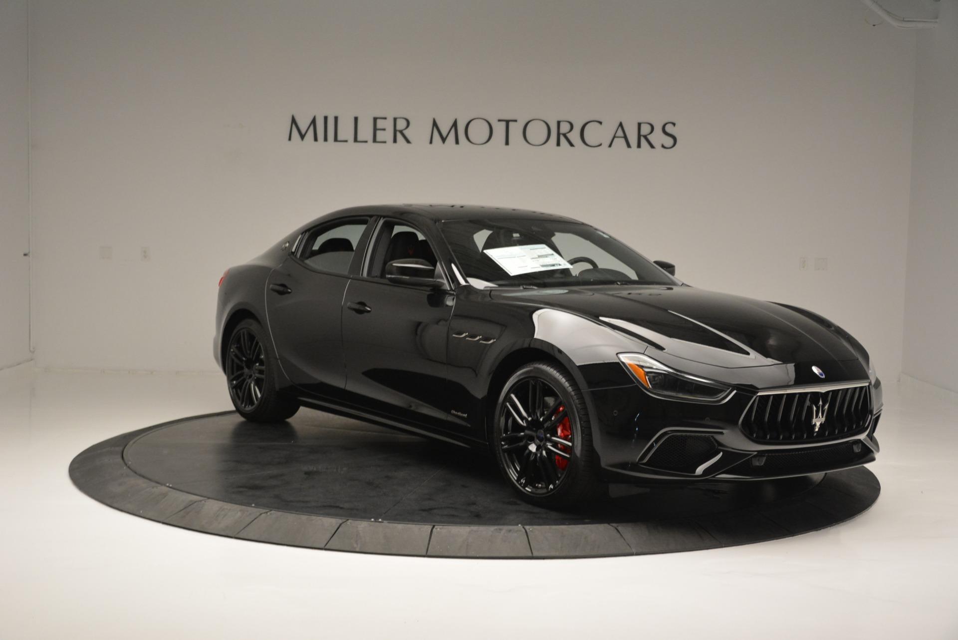 New 2018 Maserati Ghibli SQ4 GranSport Nerissimo For Sale In Greenwich, CT. Alfa Romeo of Greenwich, W603 2372_p11