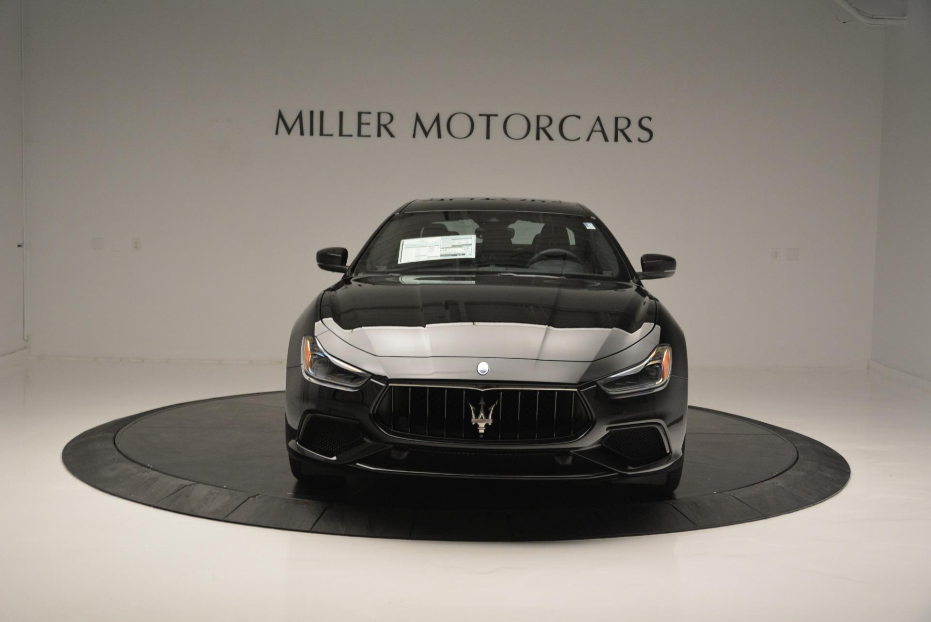 New 2018 Maserati Ghibli SQ4 GranSport Nerissimo For Sale In Greenwich, CT. Alfa Romeo of Greenwich, W603 2372_p12