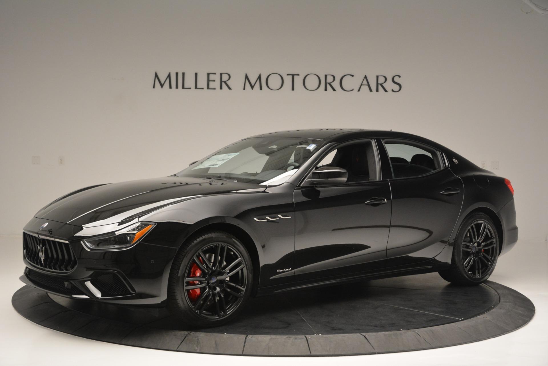 New 2018 Maserati Ghibli SQ4 GranSport Nerissimo For Sale In Greenwich, CT. Alfa Romeo of Greenwich, W603 2372_p2