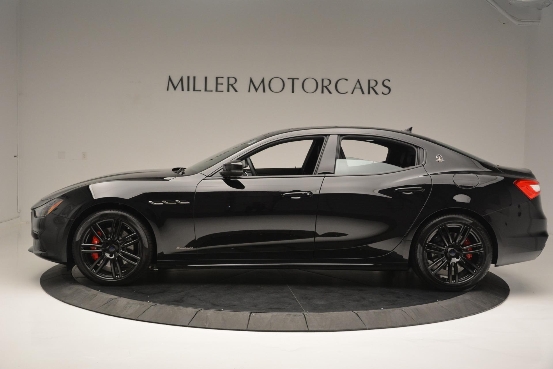 New 2018 Maserati Ghibli SQ4 GranSport Nerissimo For Sale In Greenwich, CT. Alfa Romeo of Greenwich, W603 2372_p3