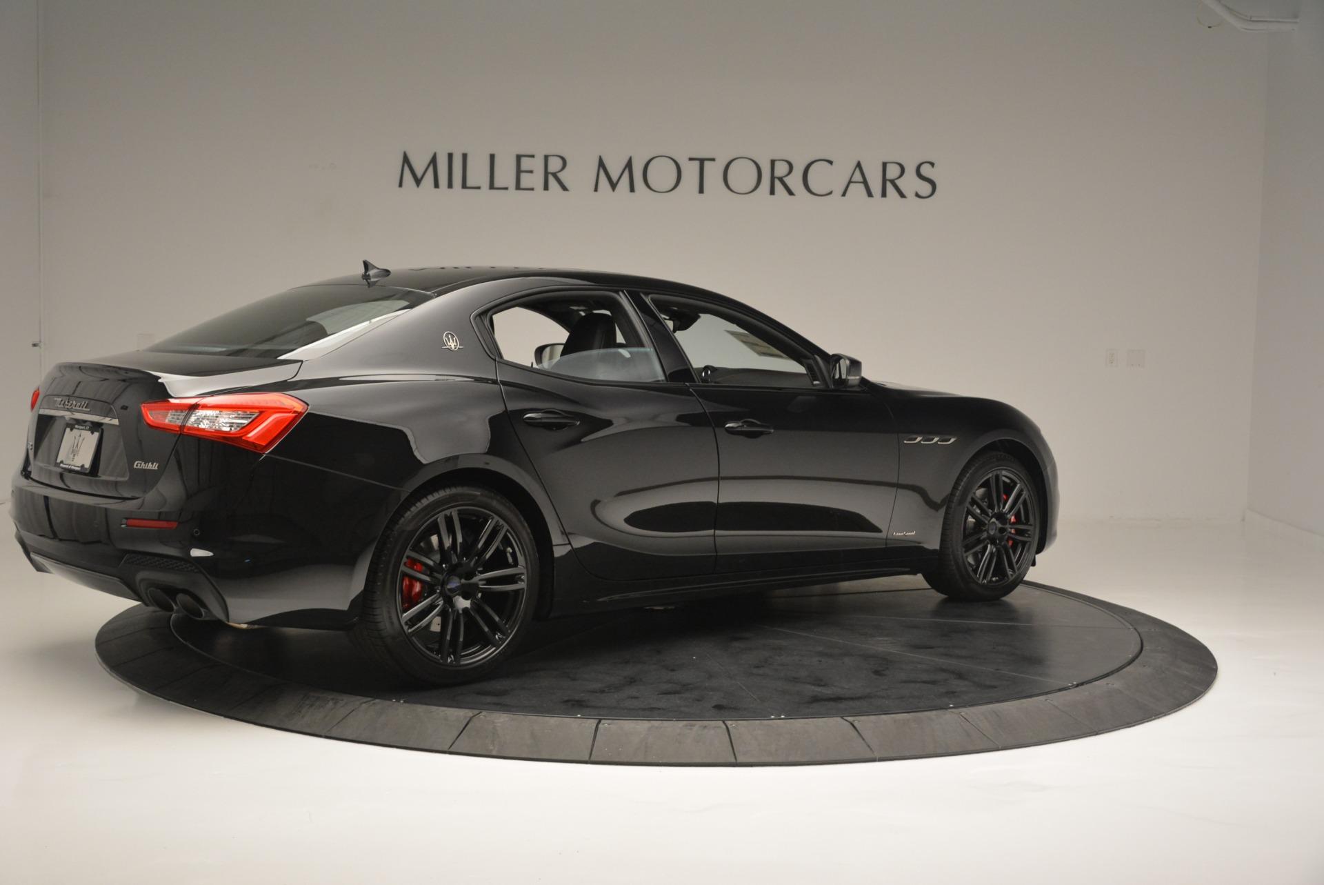 New 2018 Maserati Ghibli SQ4 GranSport Nerissimo For Sale In Greenwich, CT. Alfa Romeo of Greenwich, W603 2372_p8